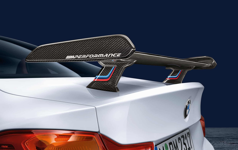 BMW M4 Coupe Performance Zubehör - Carbon Heckspoiler