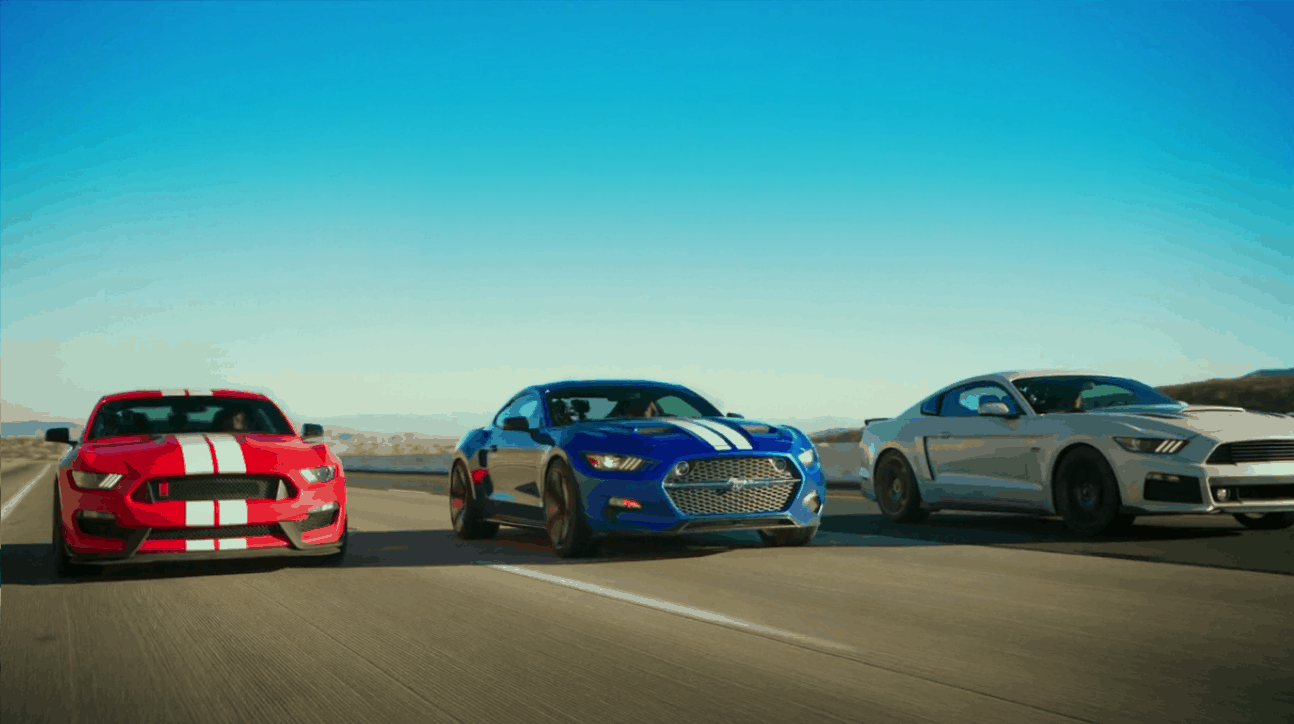Ford Mustang, Roush Stage 3, Fisker Golpin Rocket, Shelby GT350