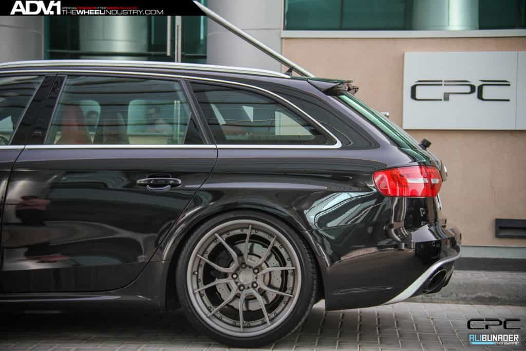Audi RS4 Avant mit ADV5.0 Track Spec CS Felgen