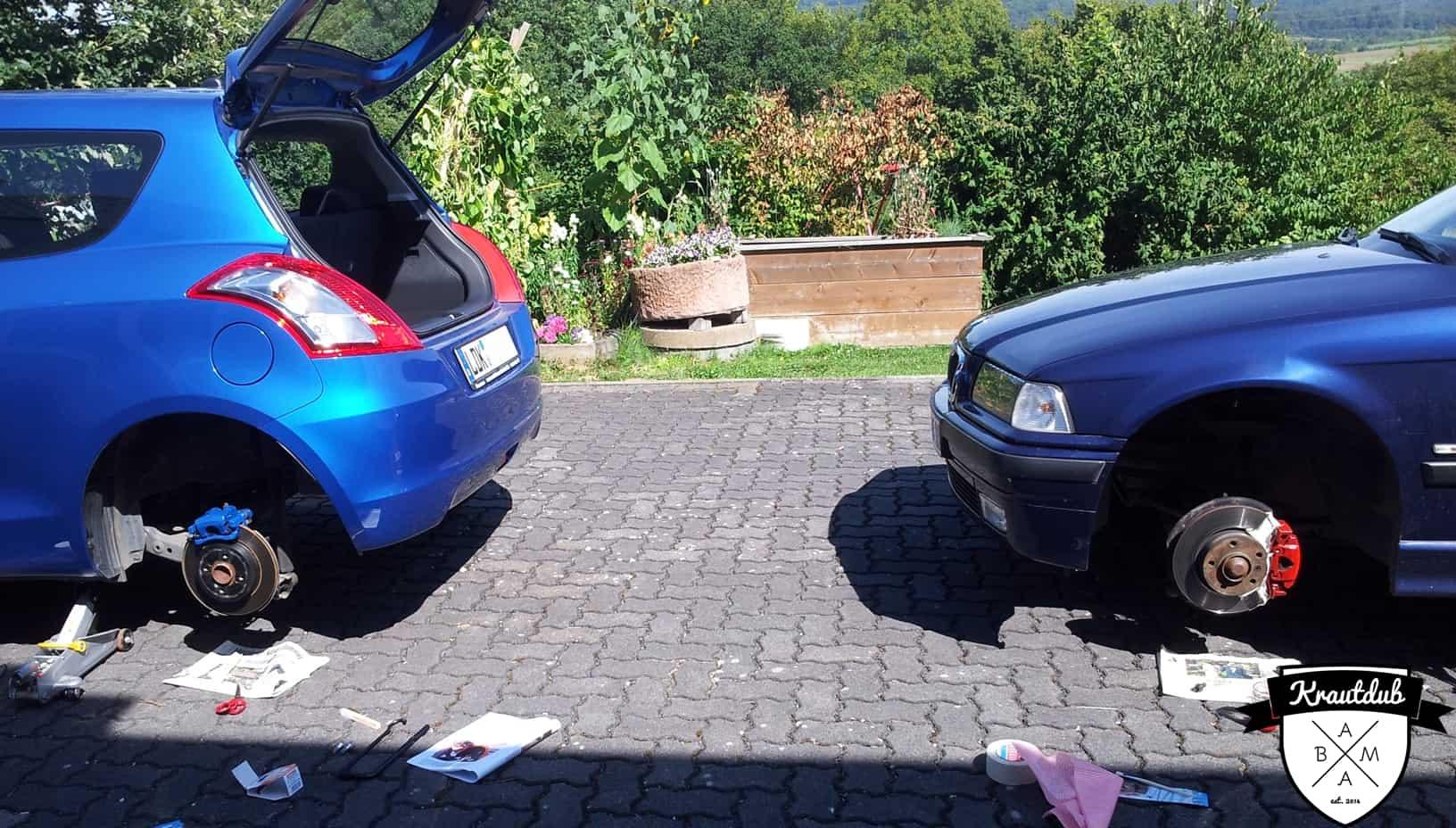 BMW E36 & Suzuki Swift