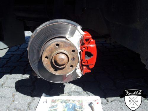 Krautdub - Bremssattel lackieren DIY Foliatec