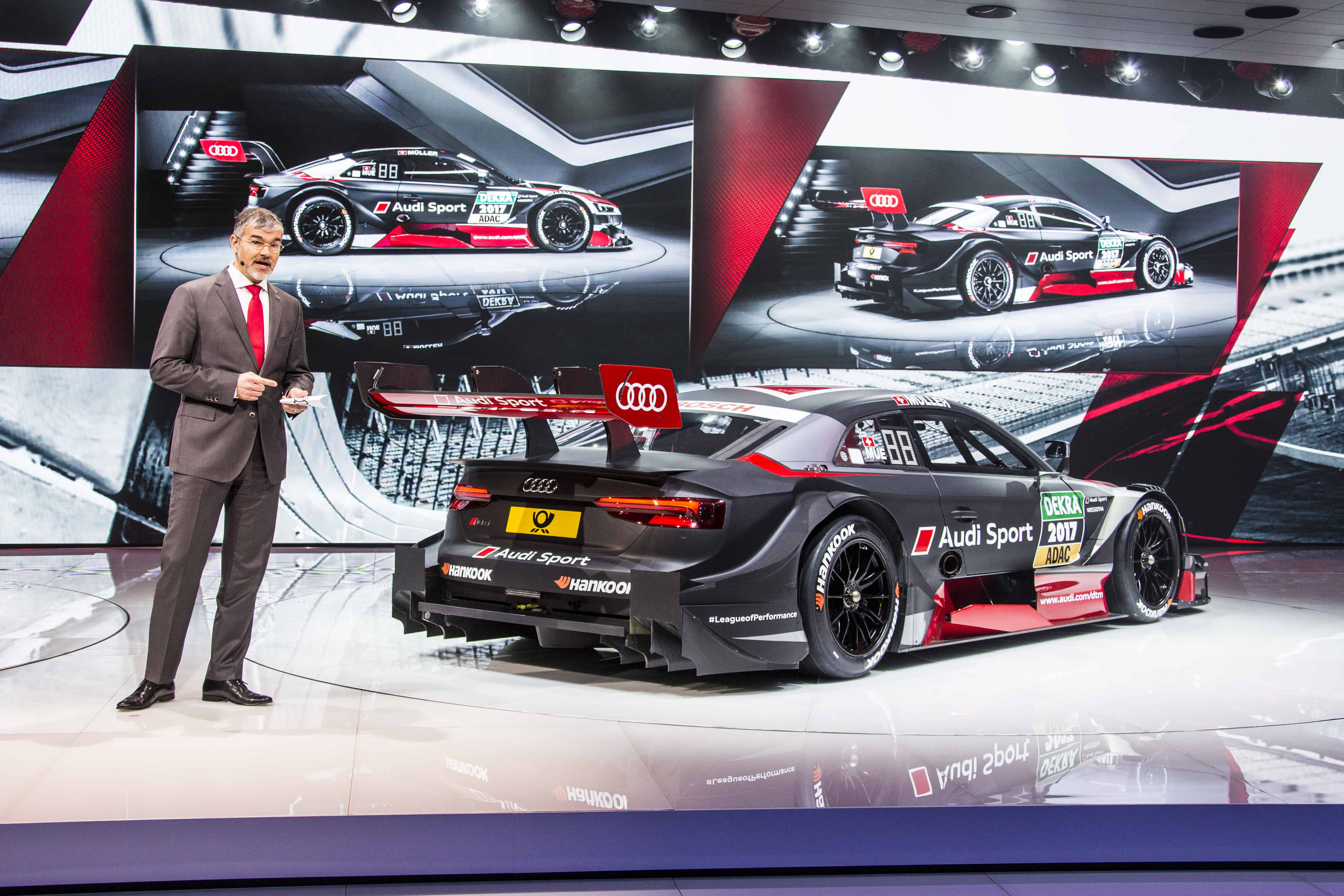 Audi RS5 DTM - Dieter Gass