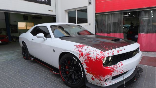 FOS Automotive Concepts - Dodge Challlenger Hellcat Bloody Wrap