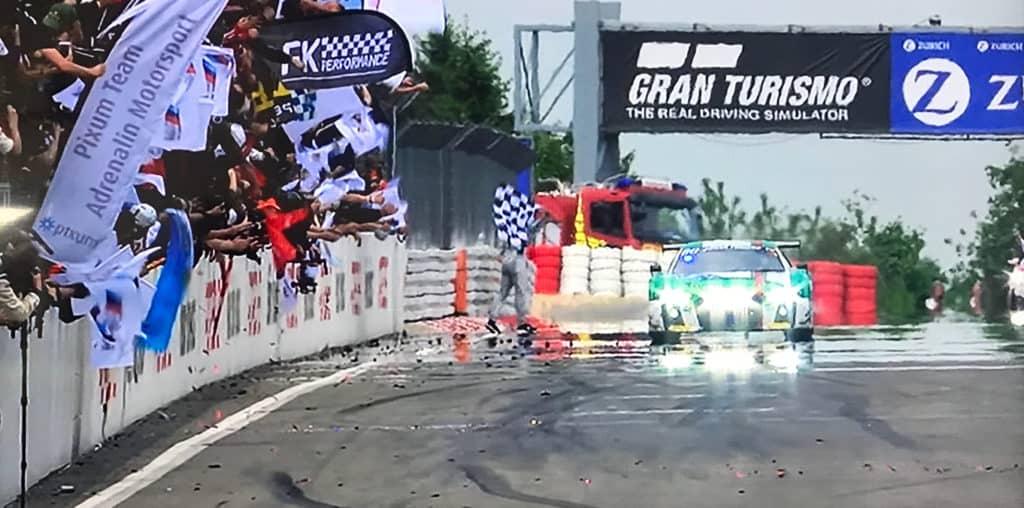 Land Motorsport gewinnt mit dem Audi R8 LMS das 24h Rennen am Nürburgring