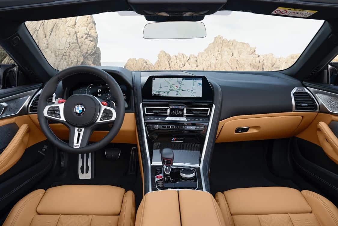 Interior BMW M8 Cabrio (G14)