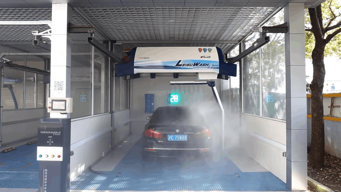 Touchless Carwash - Berührungslose Autowaschanlage