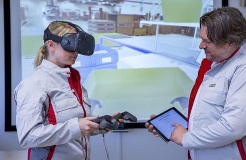 Audi schult mit Virtual Reality
