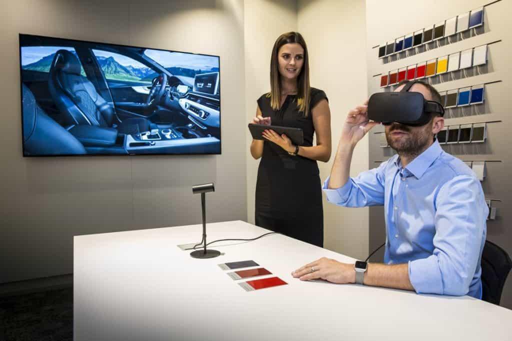Präsentation im Autohaus via Virtual Reality