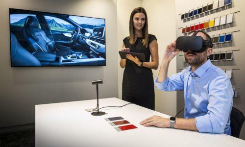 Audi nutzt Virtual Reality im Autohaus und für Schulungen