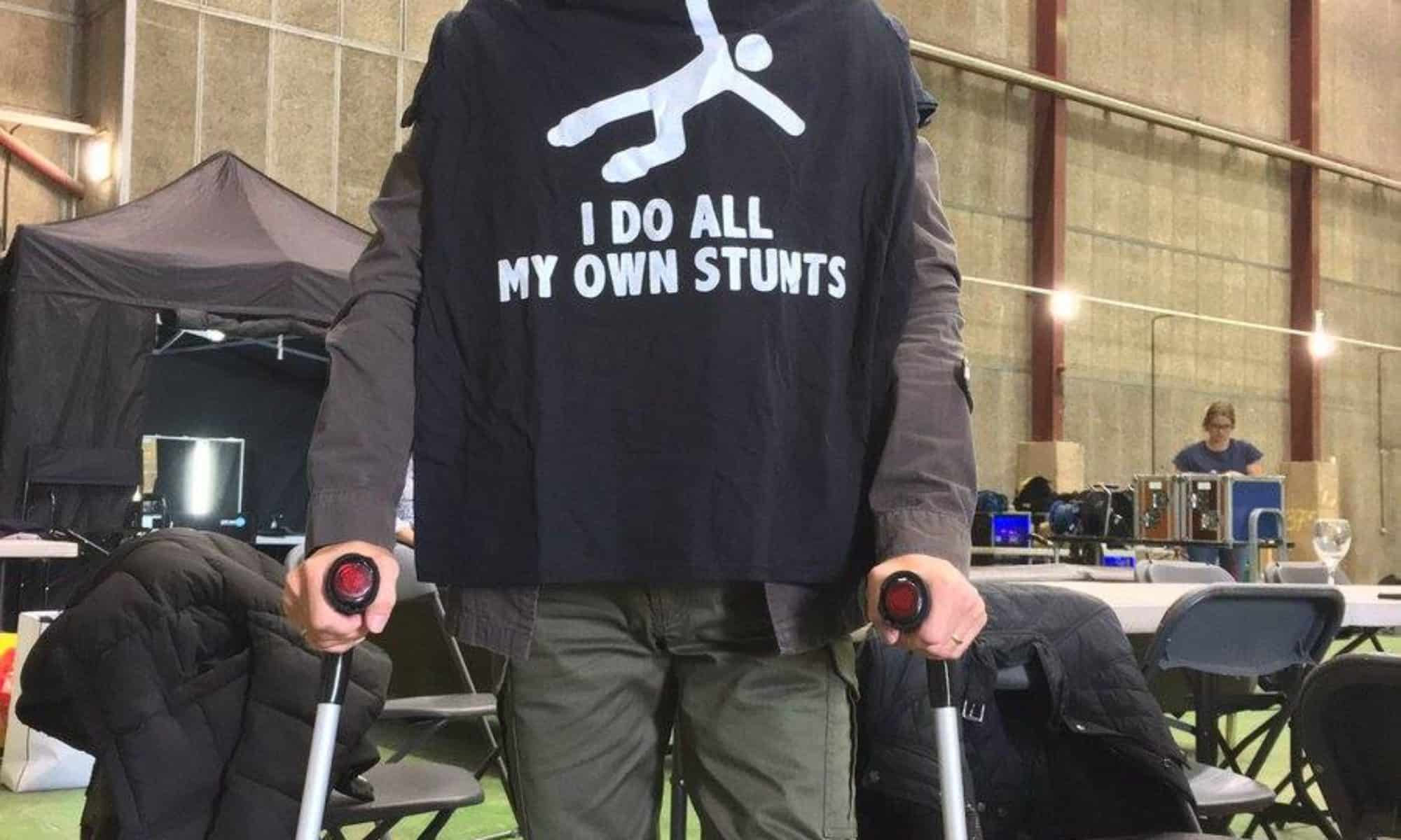 [GagGalerie #28] I do all my own stunts