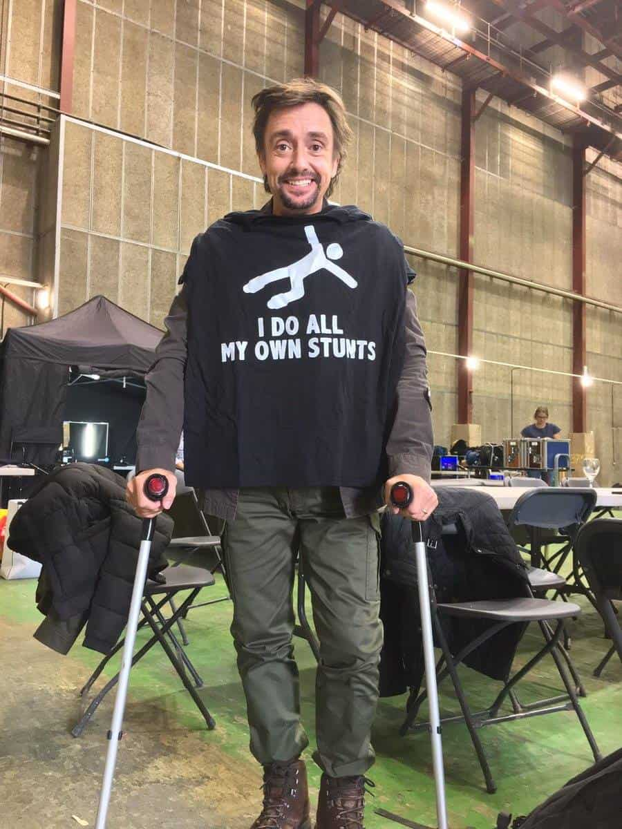 Richard Hammond - I do all my own stunts