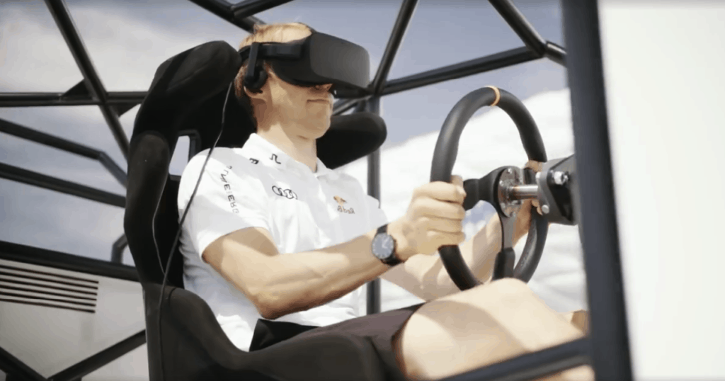 Audi Cup 2017 Mattias Ekström #SuperQ Virtual Reality