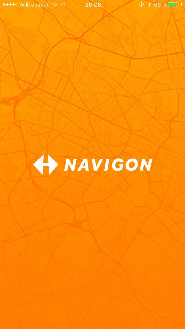 Navigon App für iOS und Android