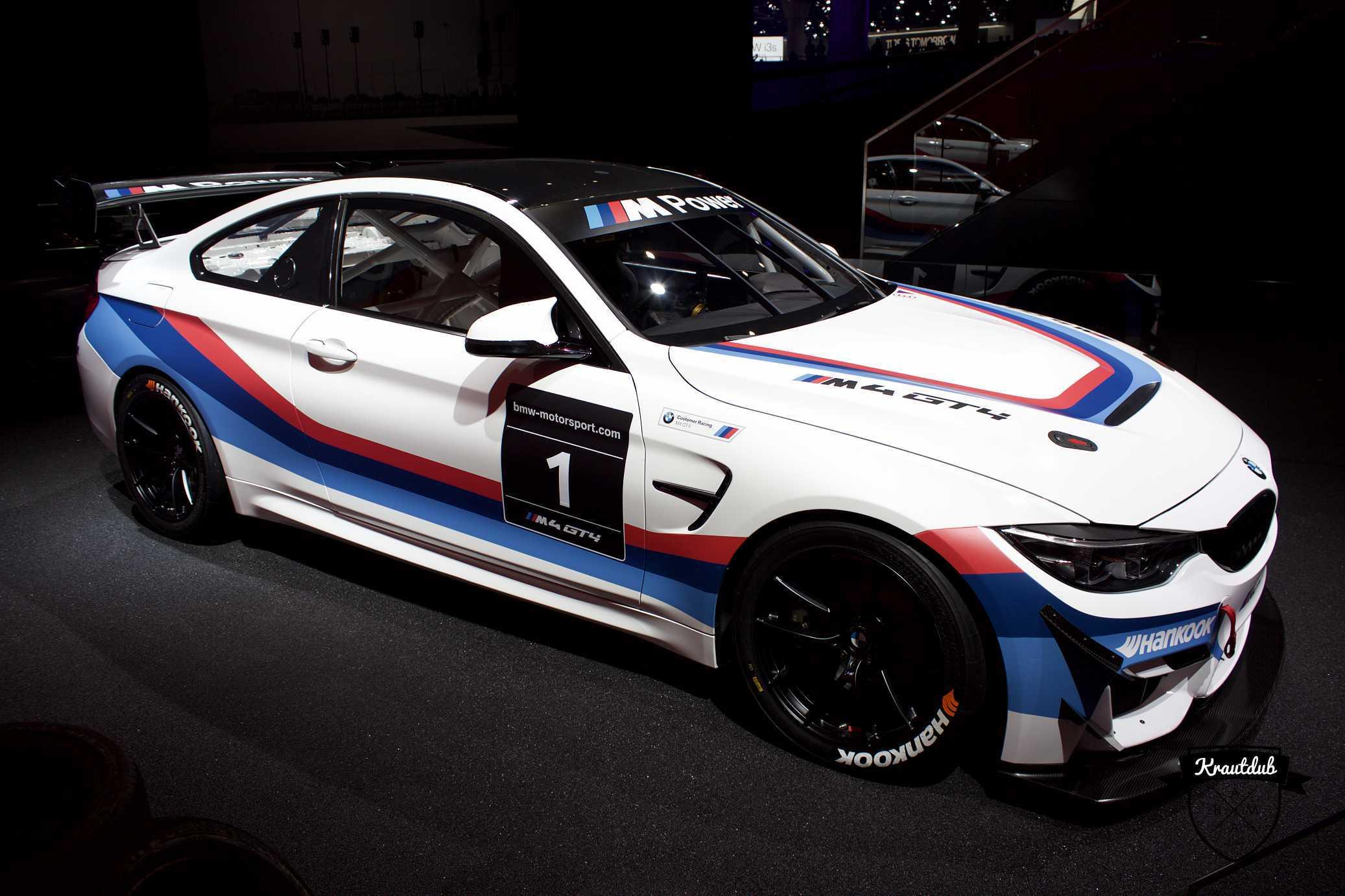 BMW M4 GT4 - IAA 2017