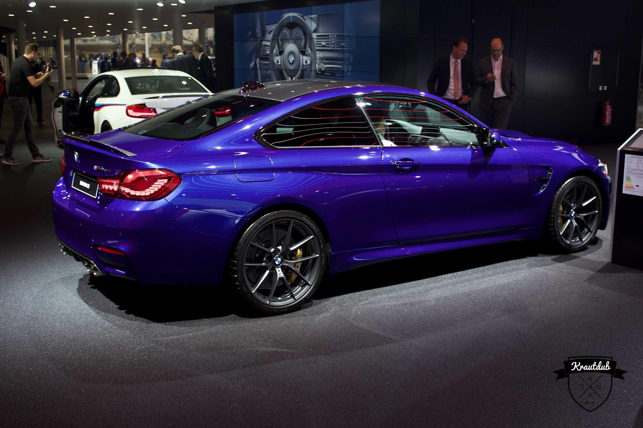 BMW M4 CS - IAA 2017