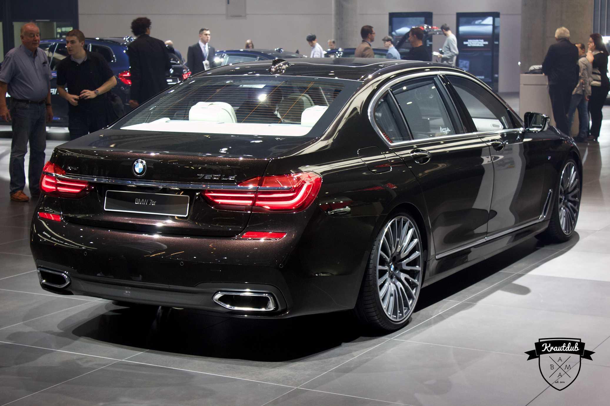 BMW 750ld - IAA 2017