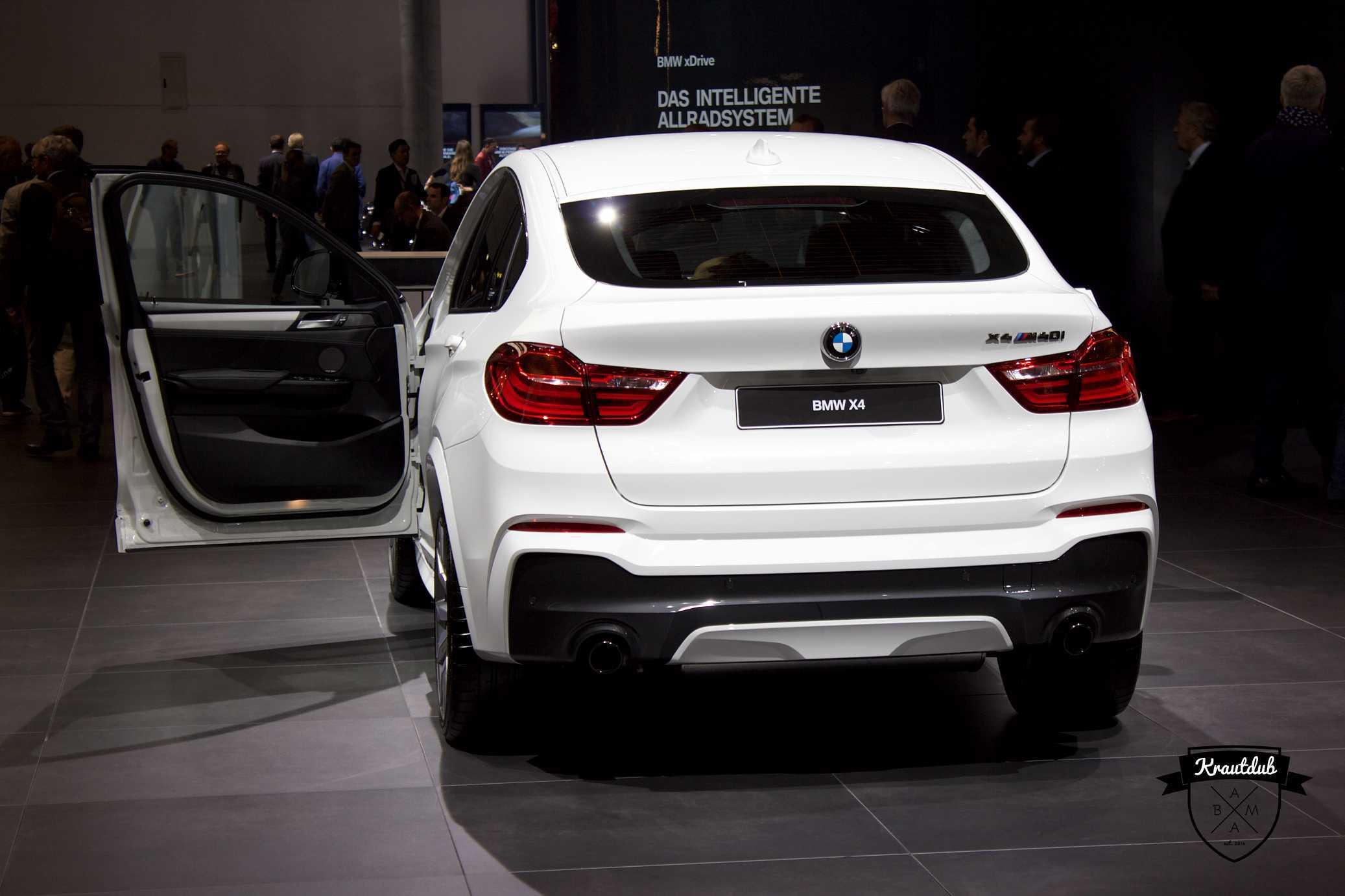 BMW X4 M40i - IAA 2017