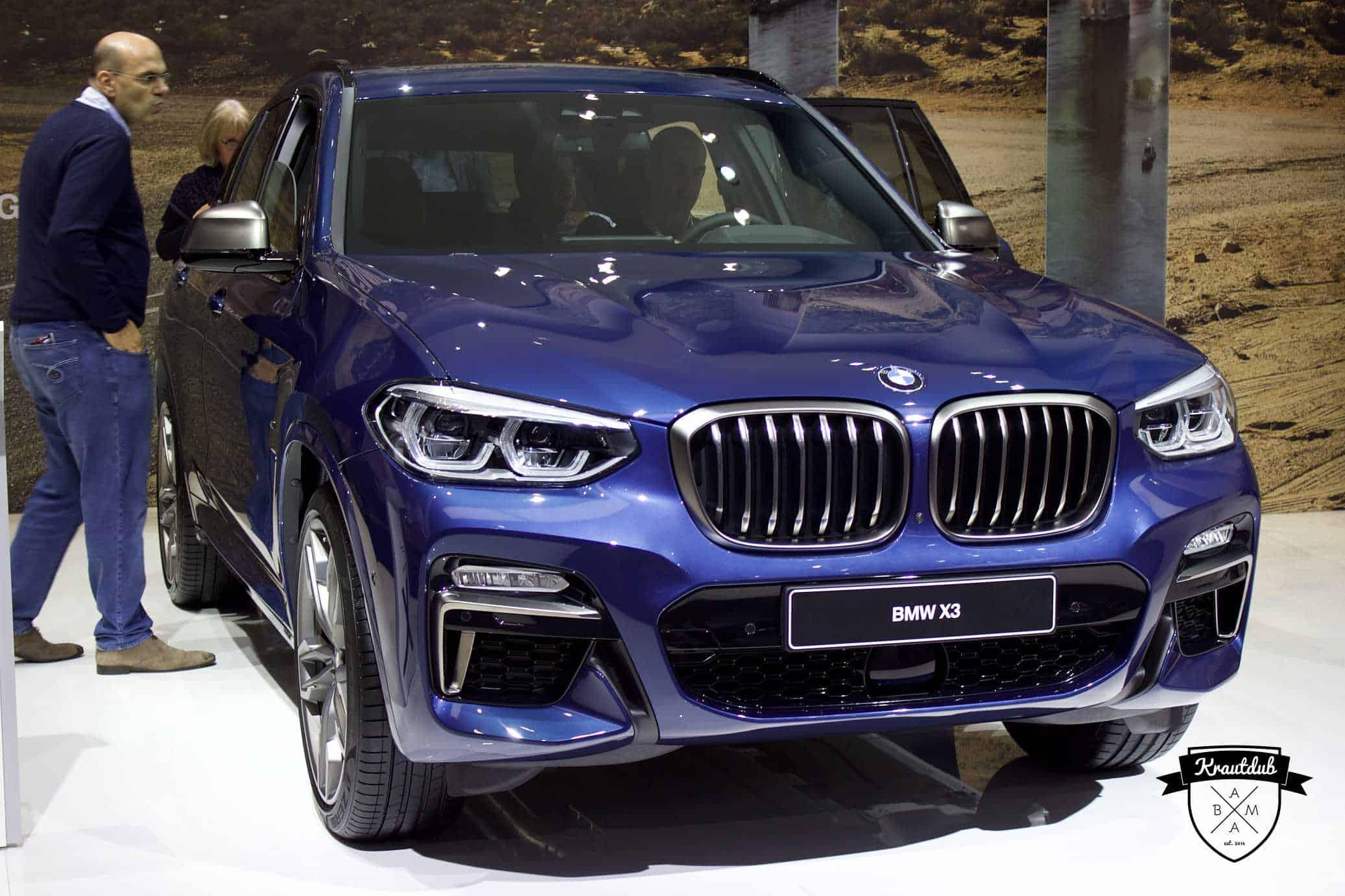 BMW X3 - IAA 2017