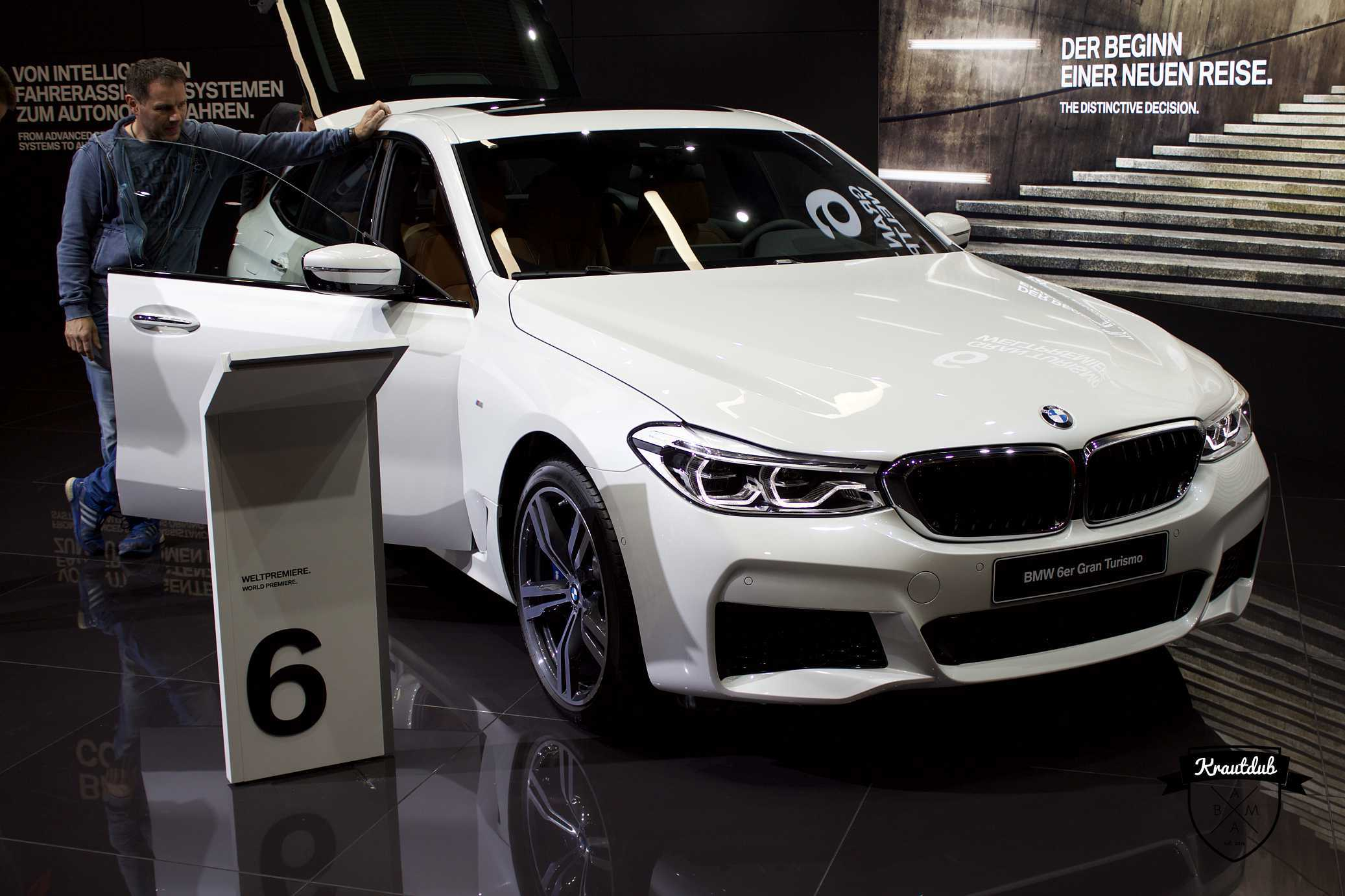 BMW 6er Gran Tourismo  - IAA 2017