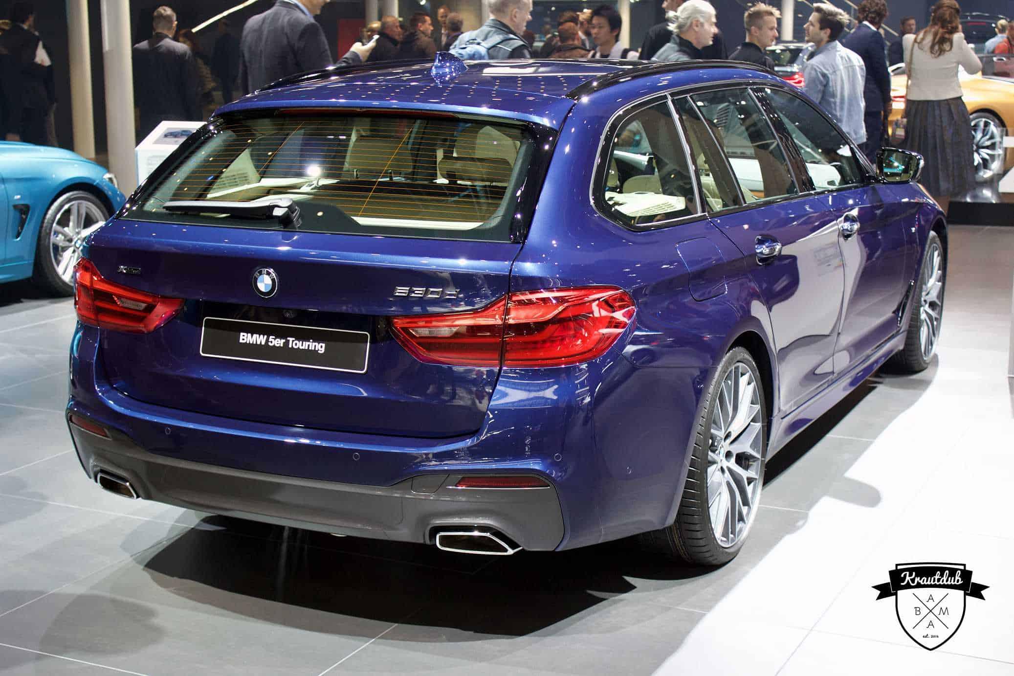 BMW 530d Touring  - IAA 2017