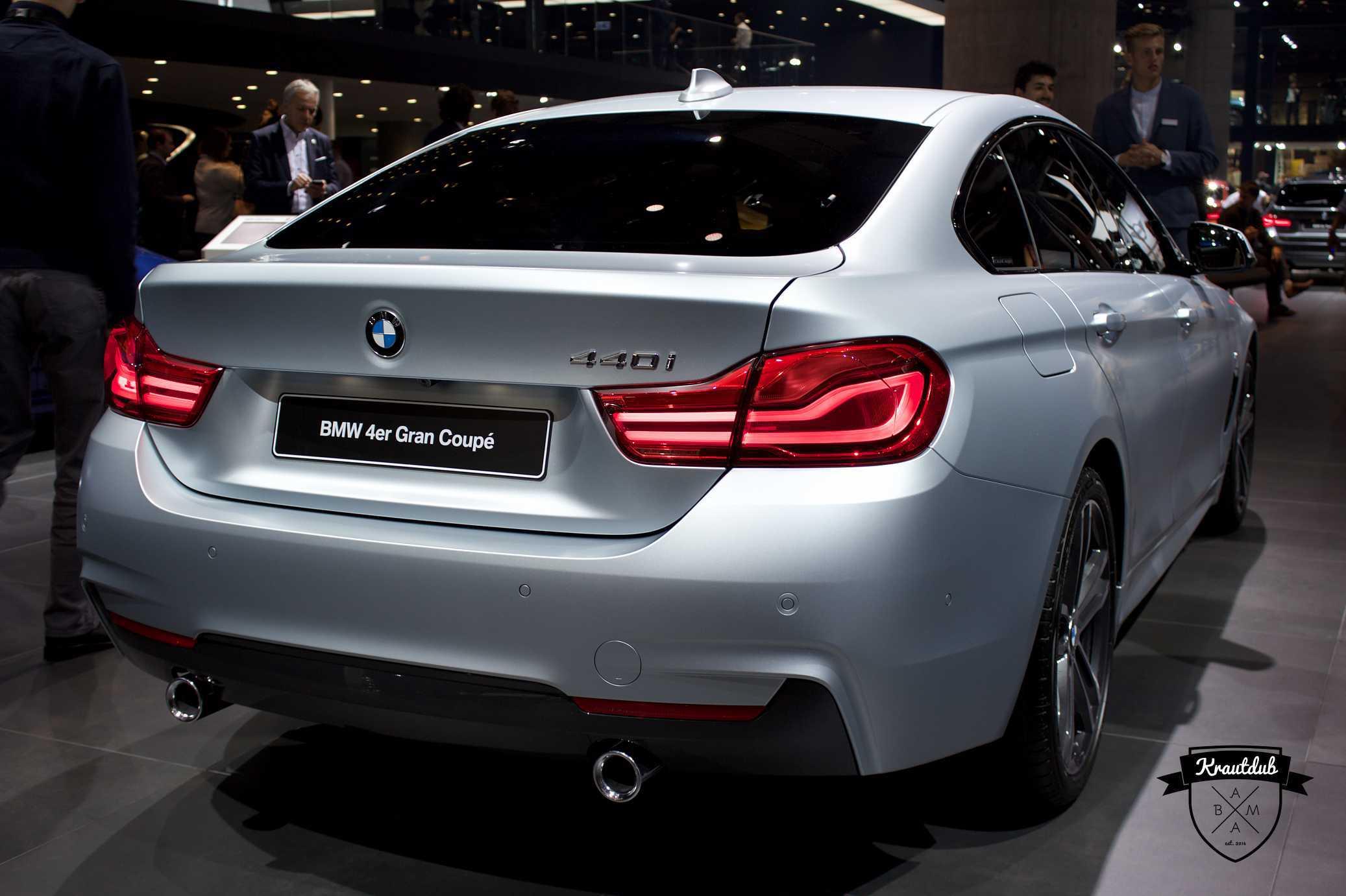 BMW 440i Gran Coupe - IAA 2017