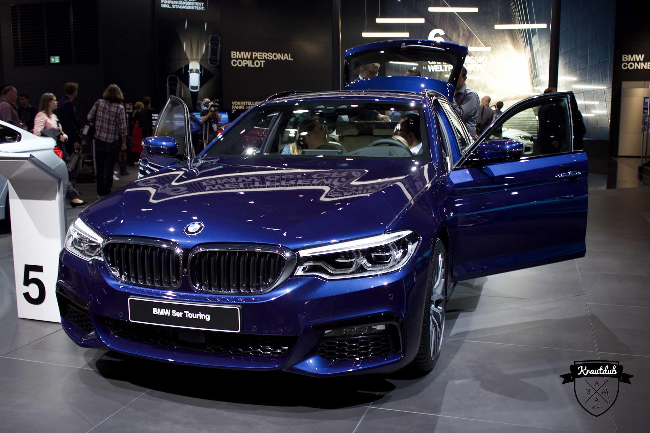 BMW 5er Touring - IAA 2017