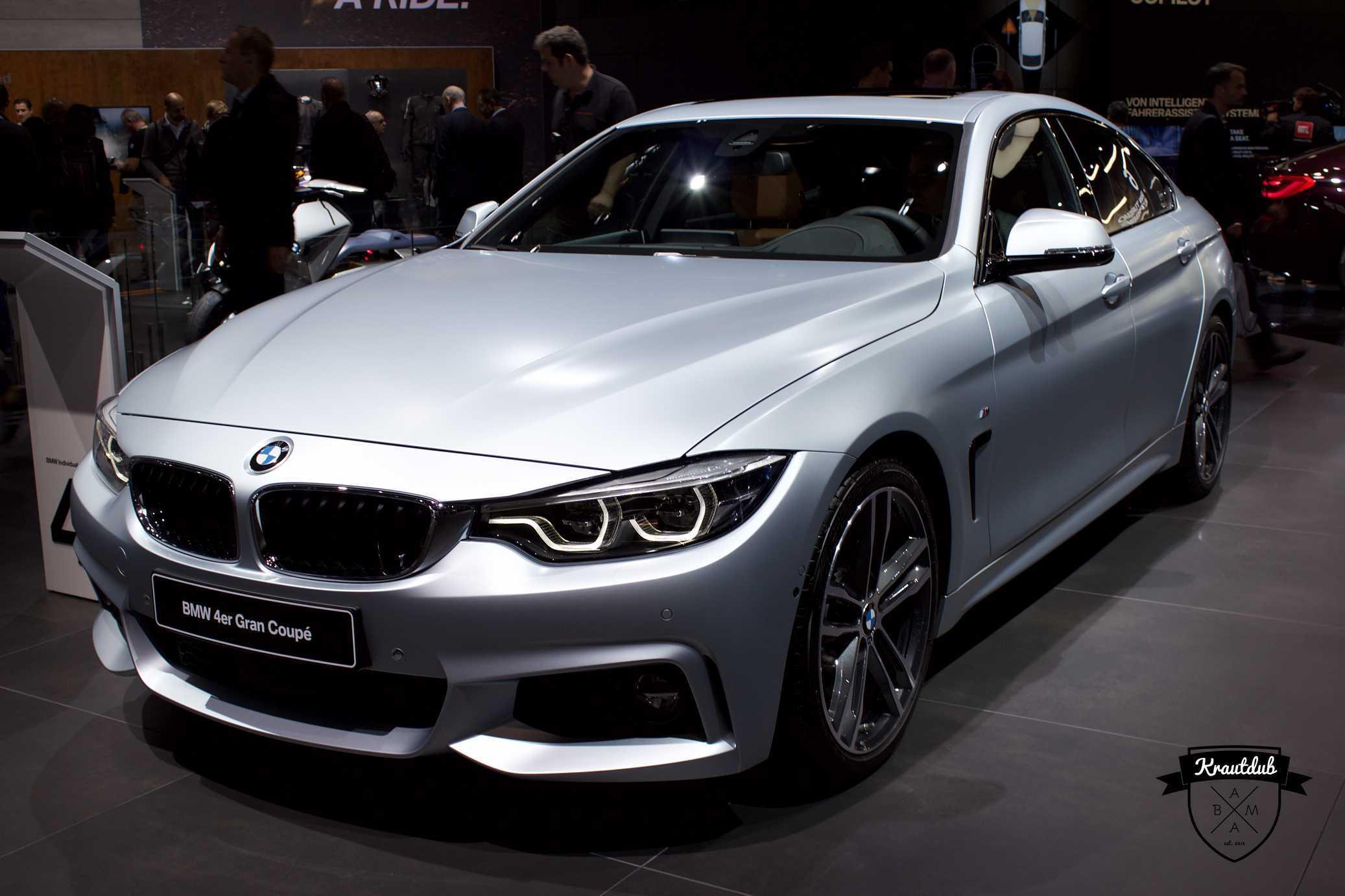 BMW 4er Gran Coupe - IAA 2017