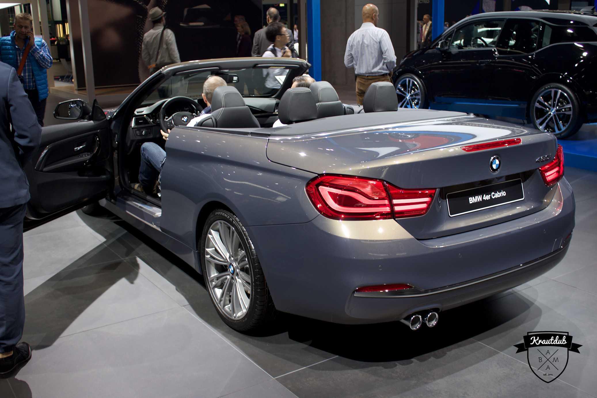 BMW 430i Cabrio - IAA 2017
