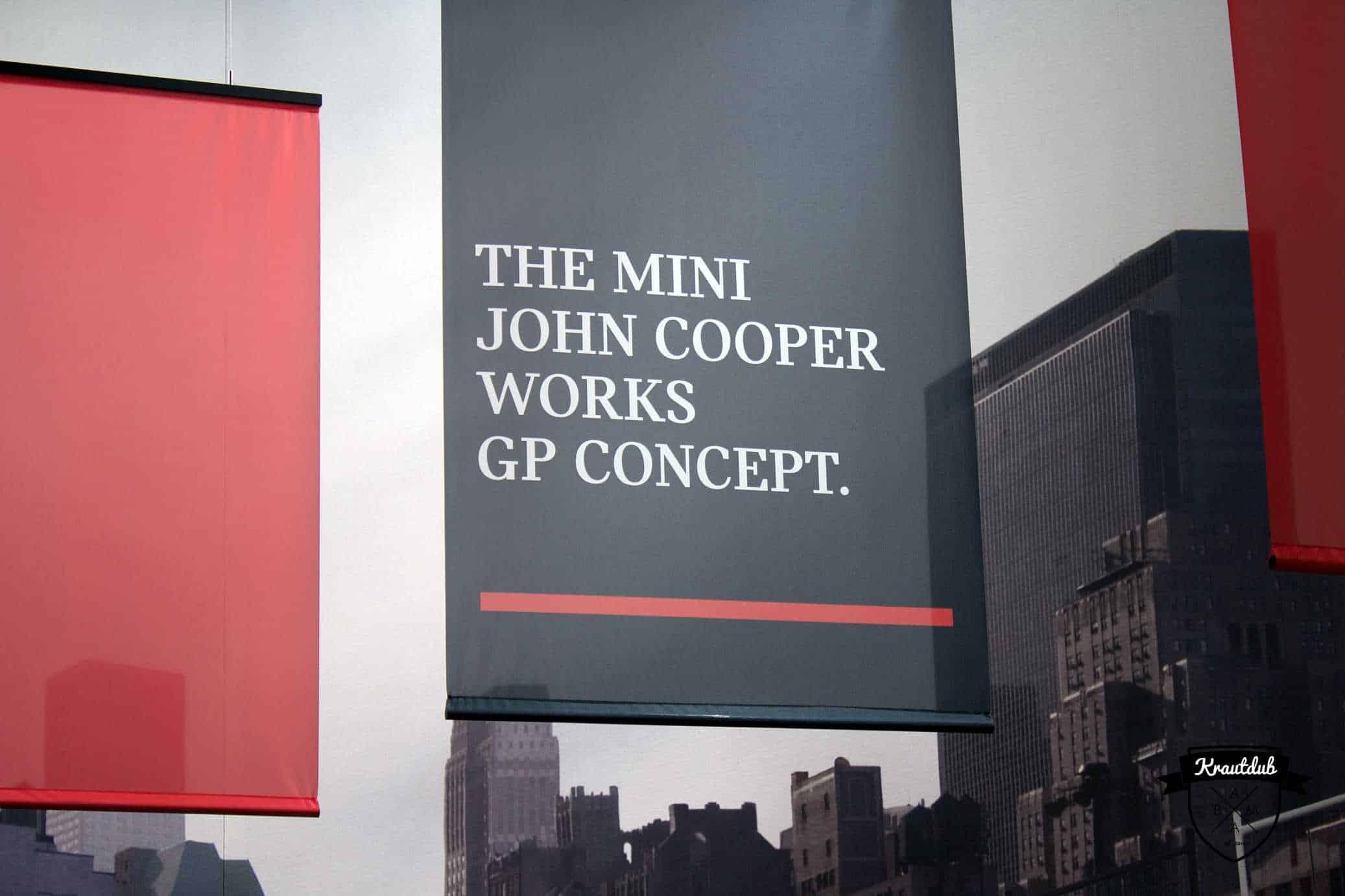 Mini John-Cooper-Works GP Concept - IAA 2017
