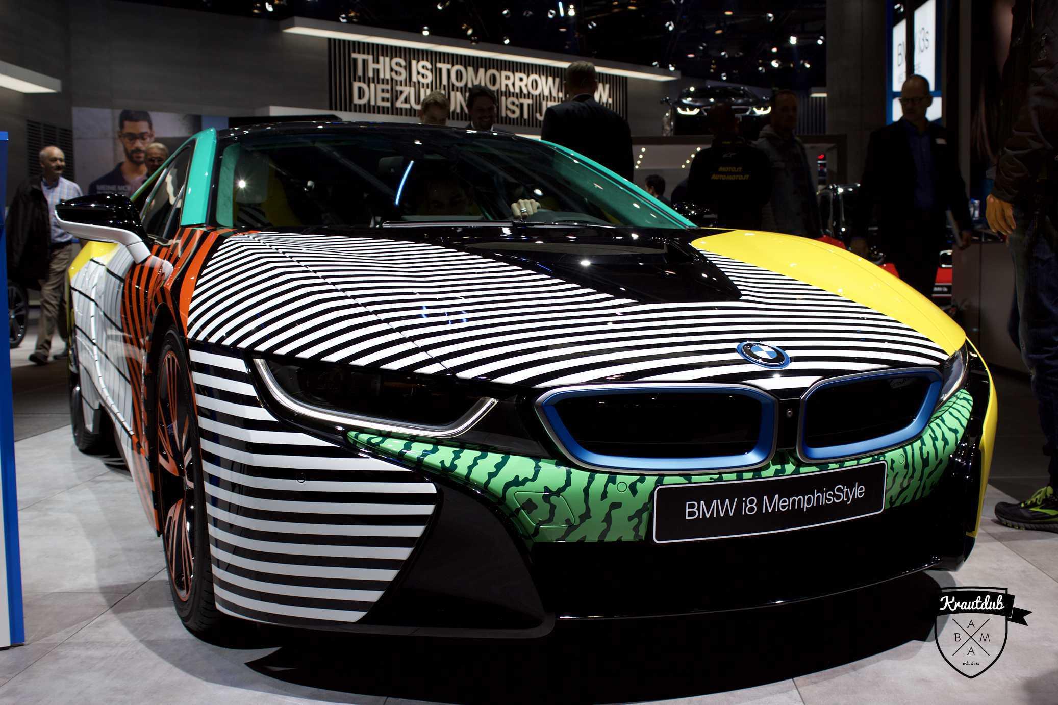 BMW i8 MemphisStyle - IAA 2017