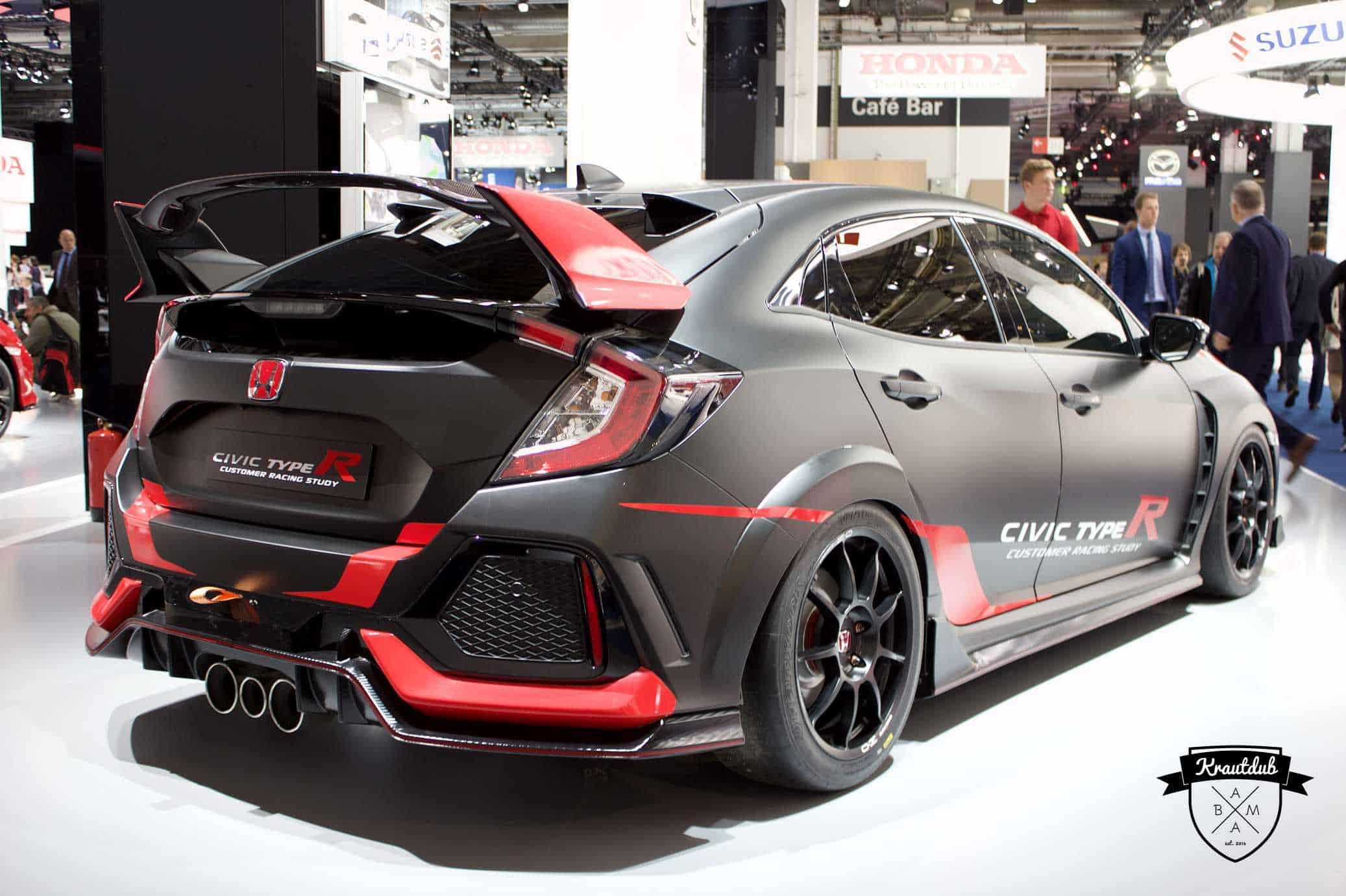 Honda Civic Type-R - IAA 2017