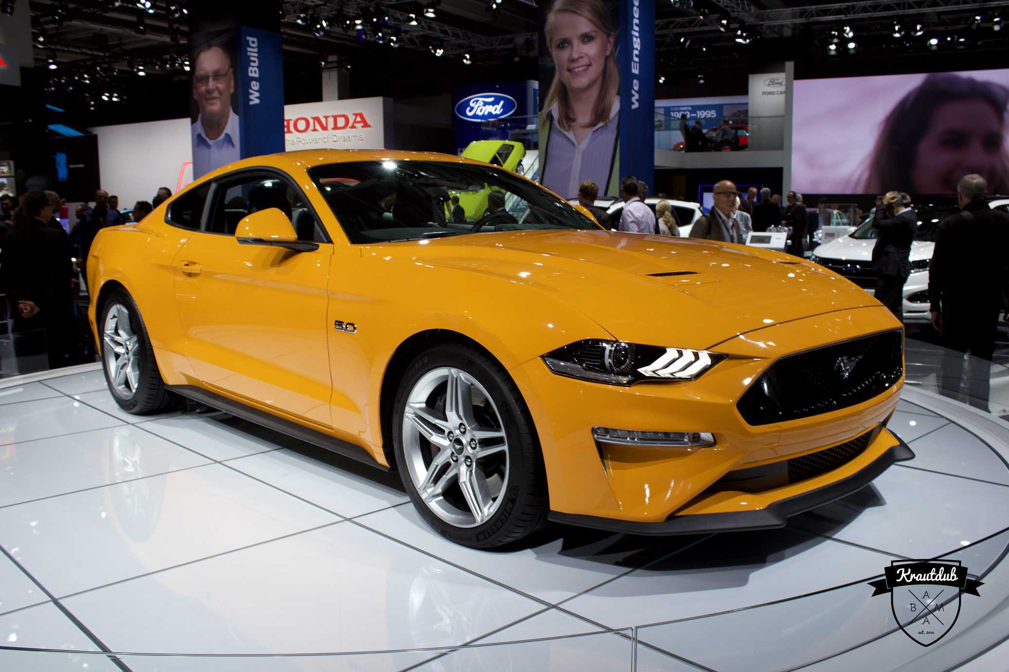 Ford Mustang Facelift - IAA 2017