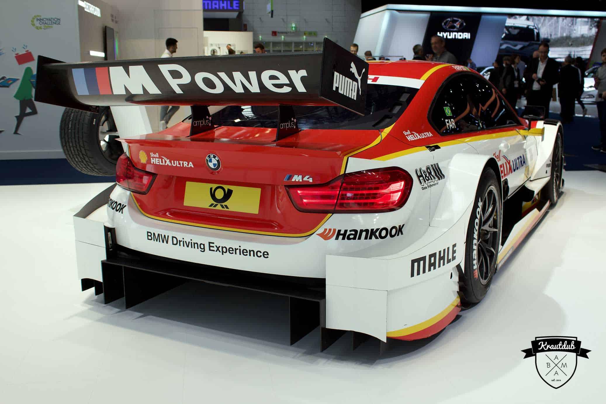 BMW Shell M4 DTM von Augusto Farfus - IAA 2017