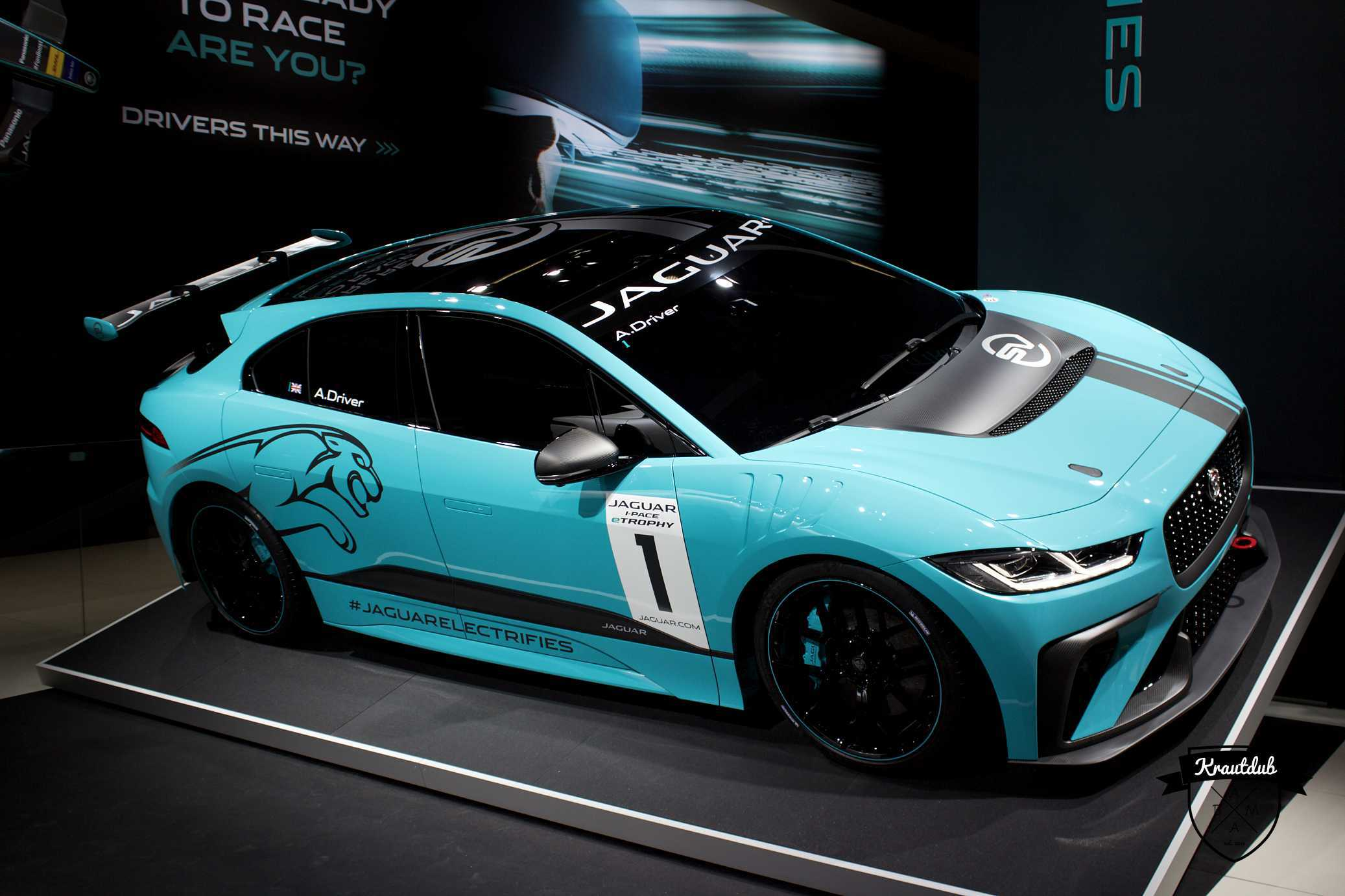 Jaguar electrifies - IAA 2017