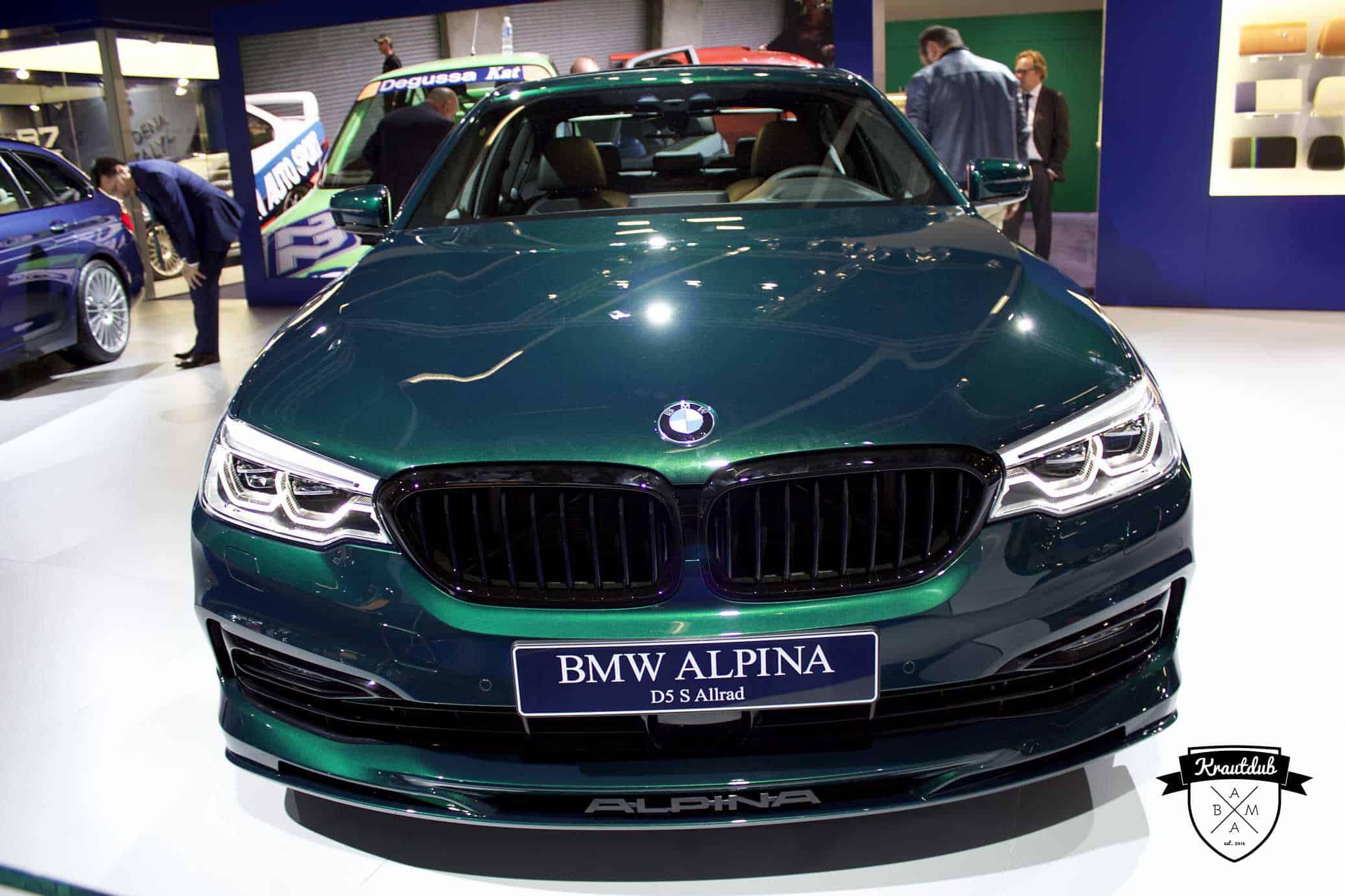 Alpina D5 S Allrad - IAA 2017