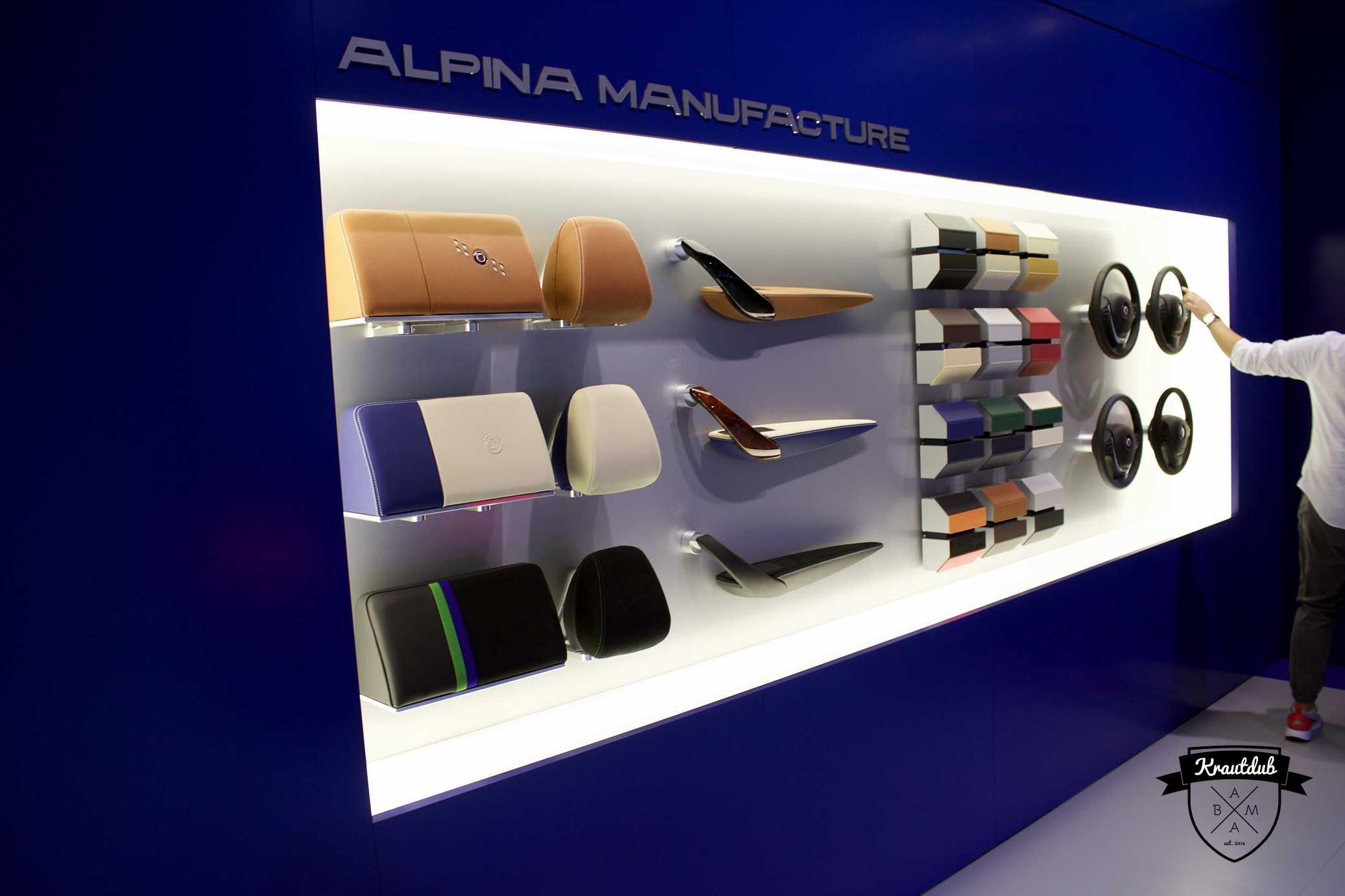 Alpina Manufacture - IAA 2017
