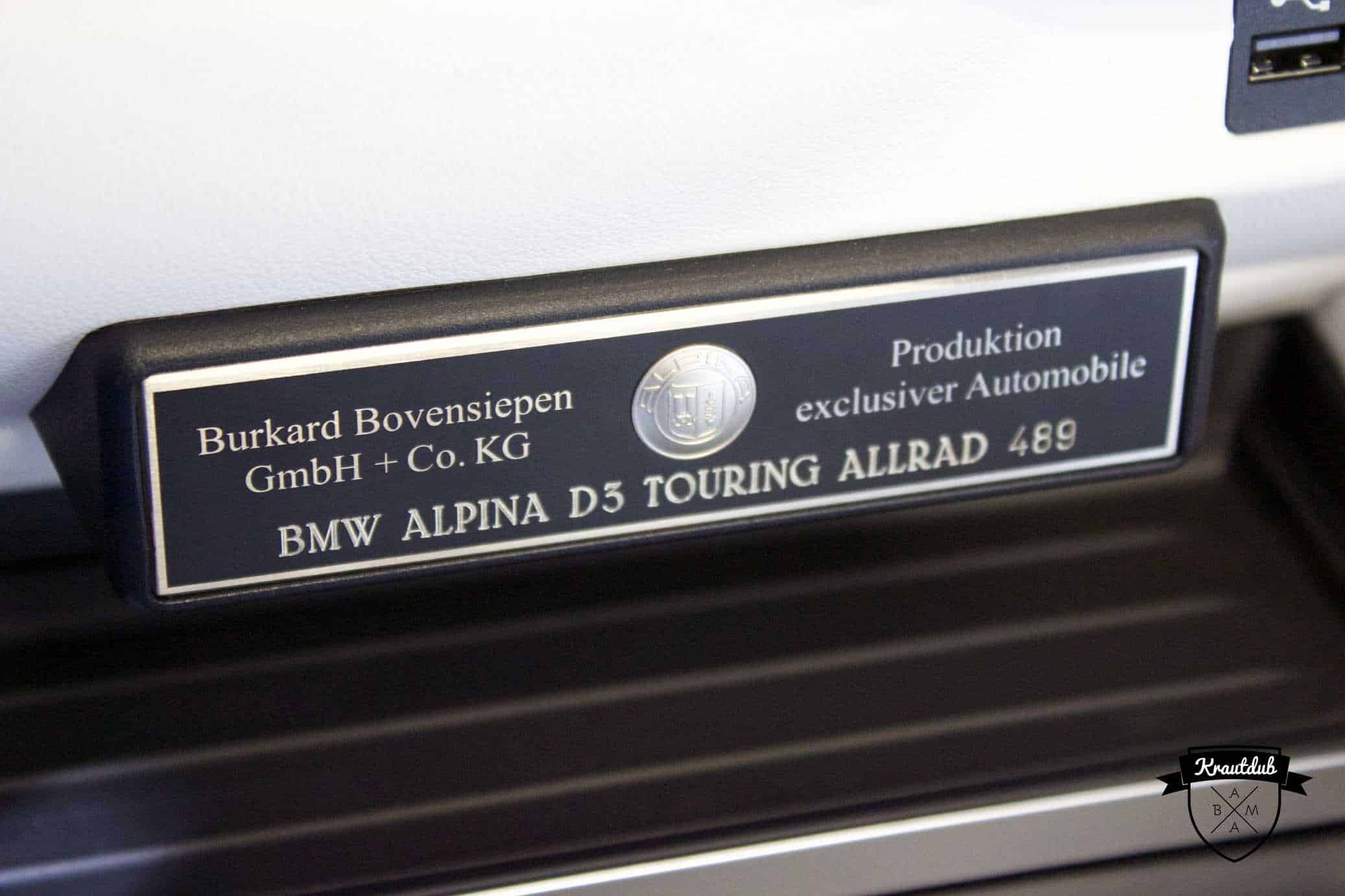 Alpina B5 BiTurbo Touring Allrad- IAA 2017