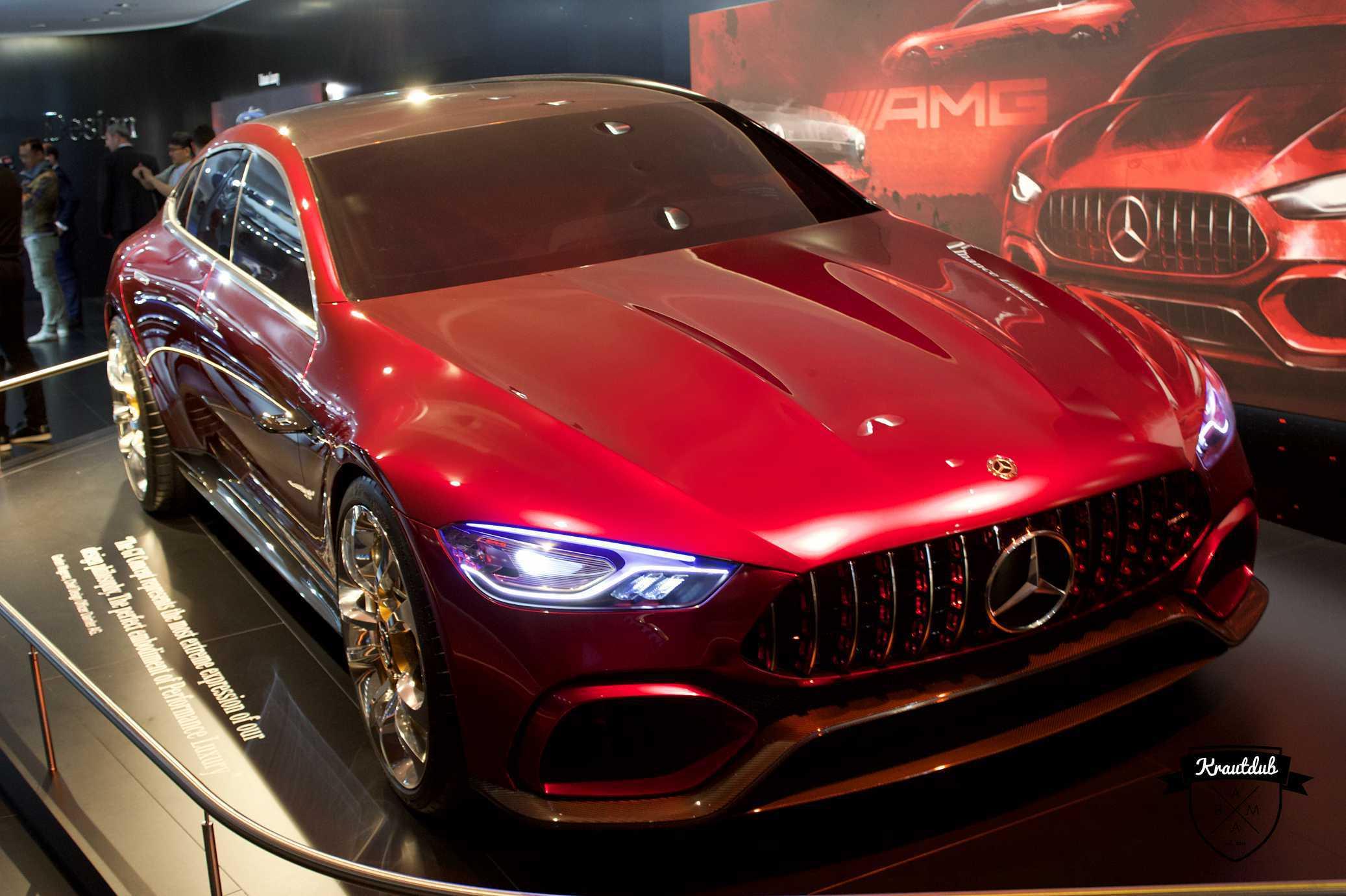 Mercedes-Benz GT Concept - IAA 2017