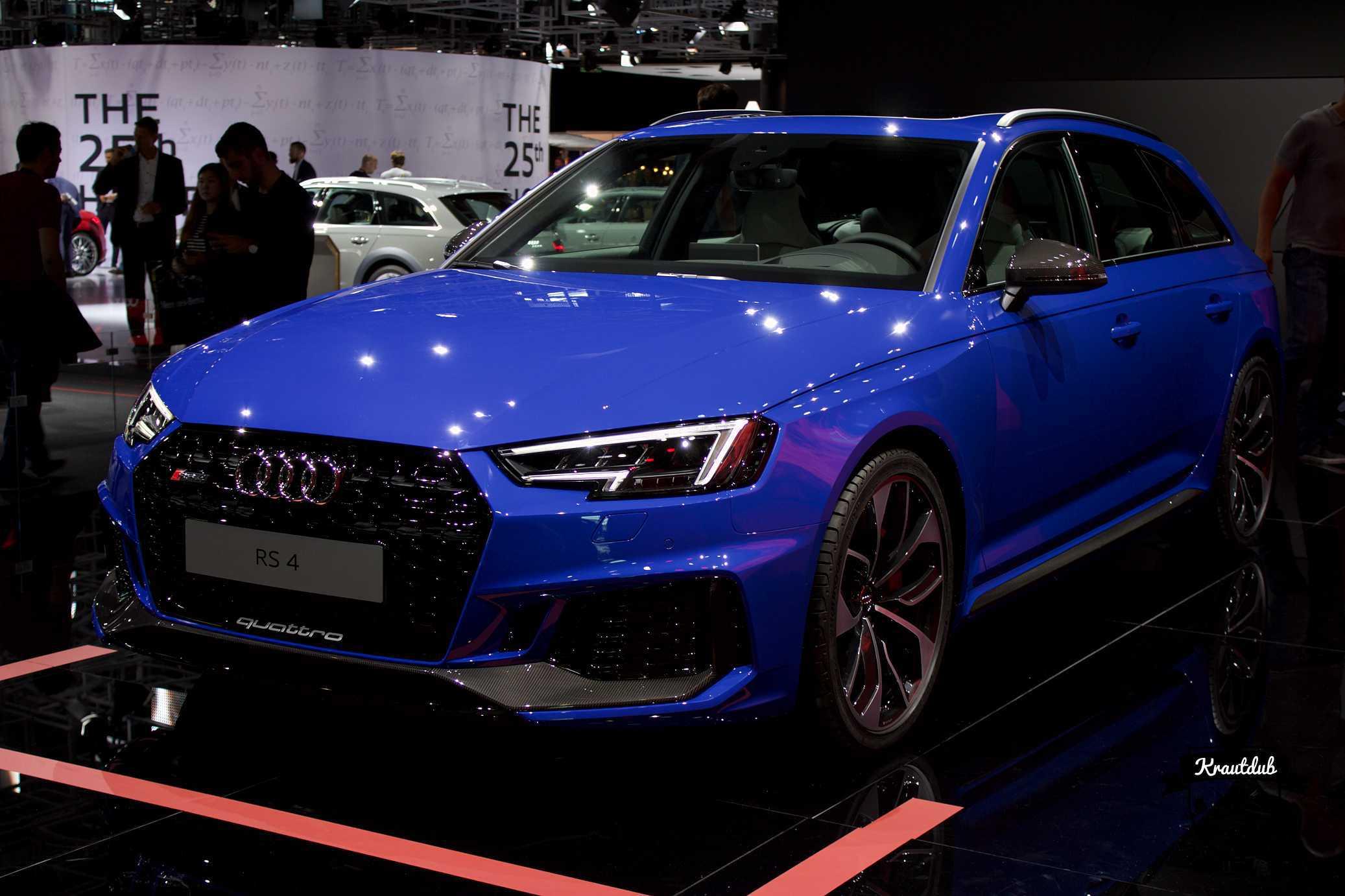 Audi RS4 Avant - IAA 2017