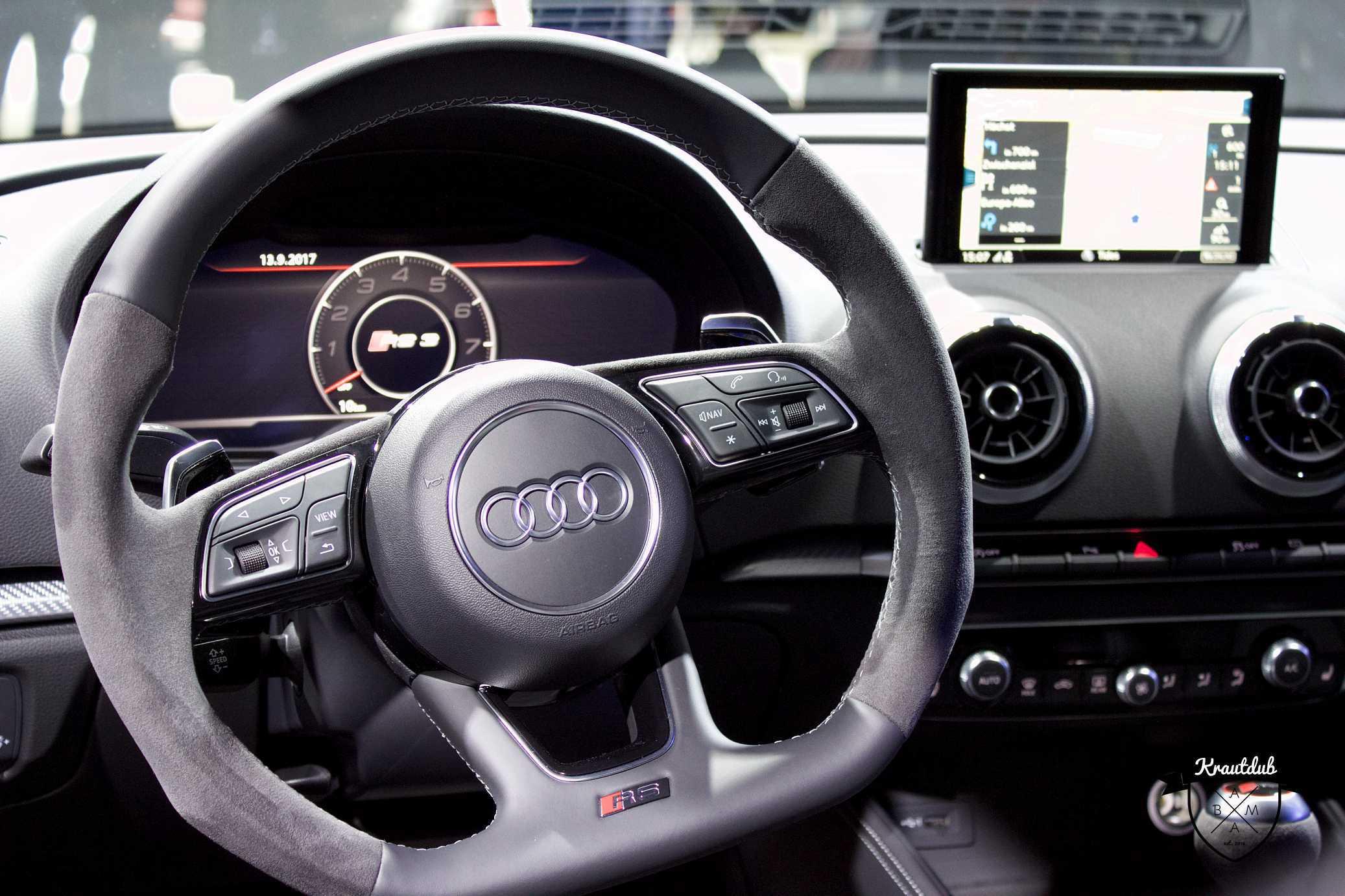 Audi RS3 - IAA 2017