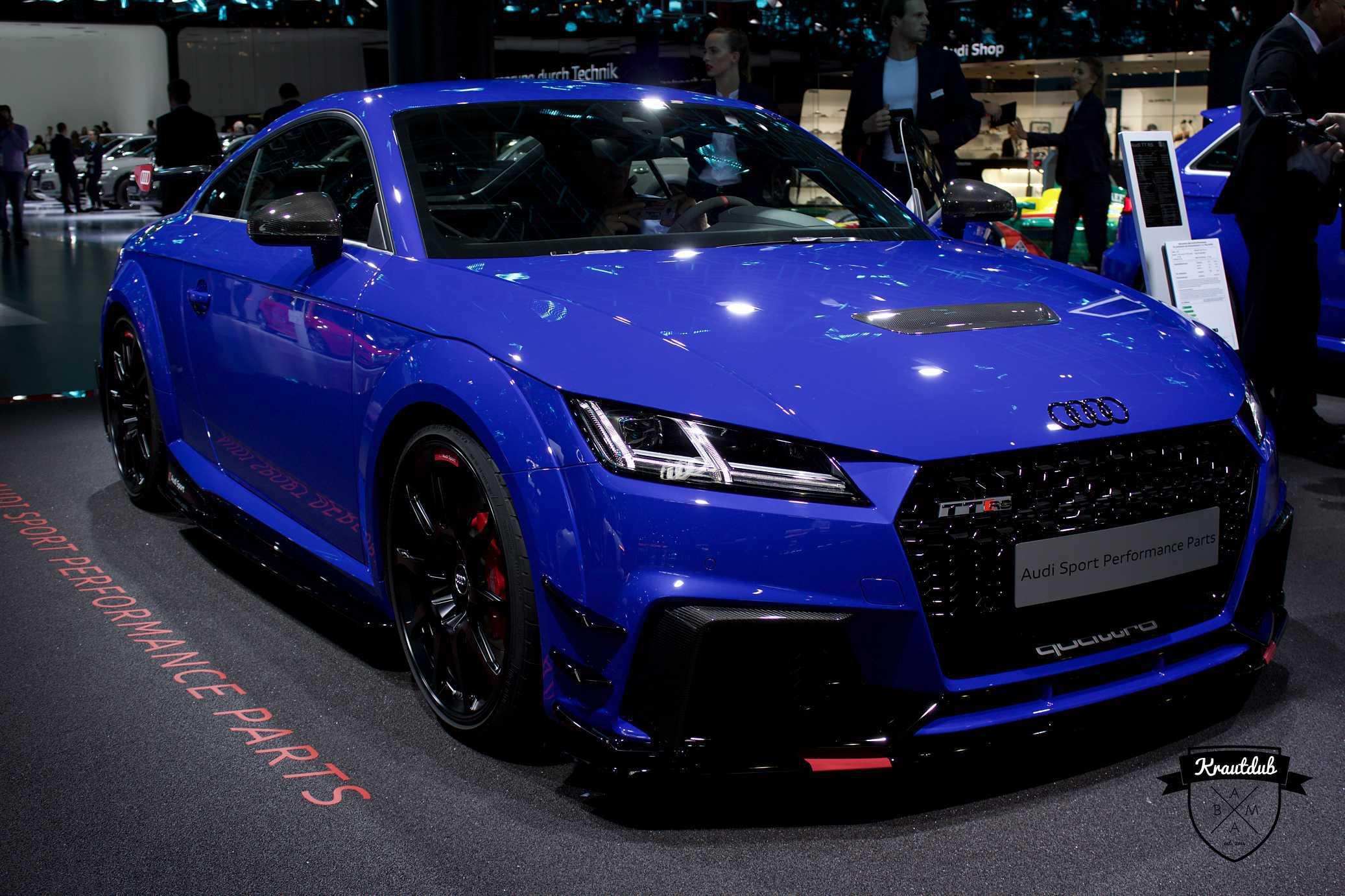Audi TT RS Performance Parts - IAA 2017