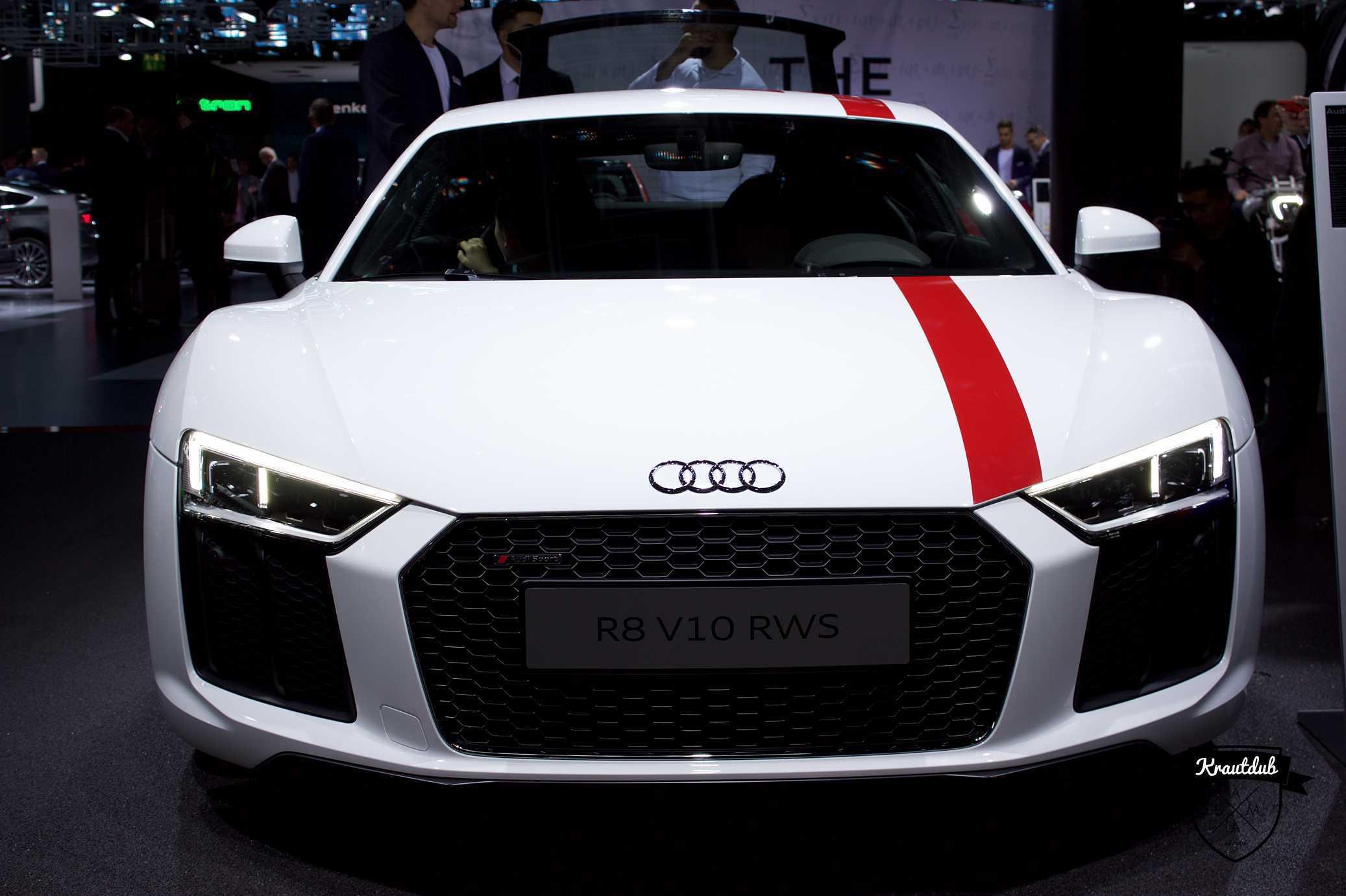 Audi R8 V10 RWS - IAA 2017