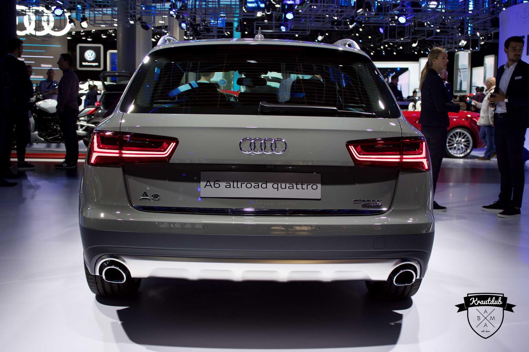 Audi A6 Allroad Quattro - IAA 2017