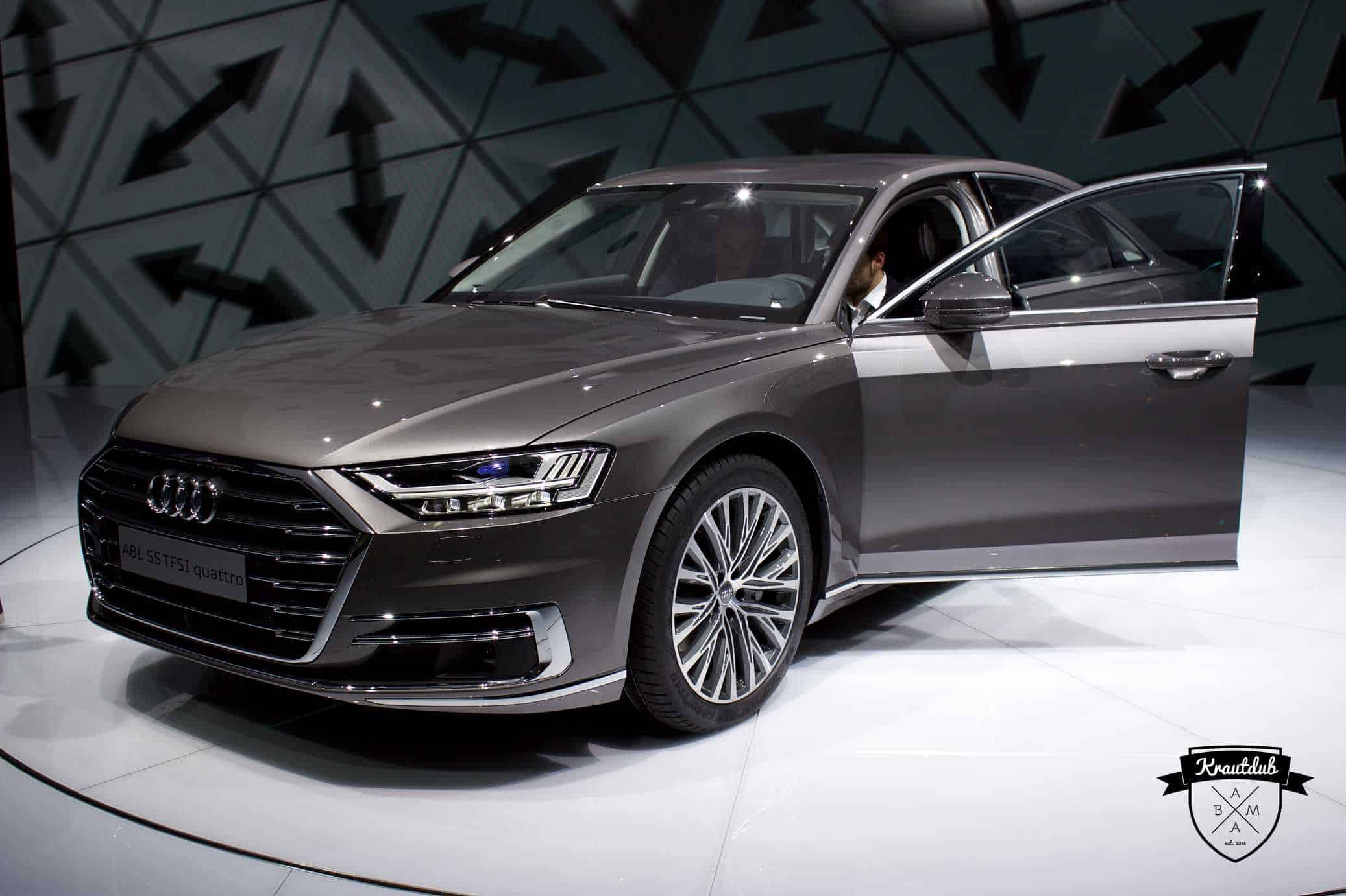 Audi A8L - IAA 2017