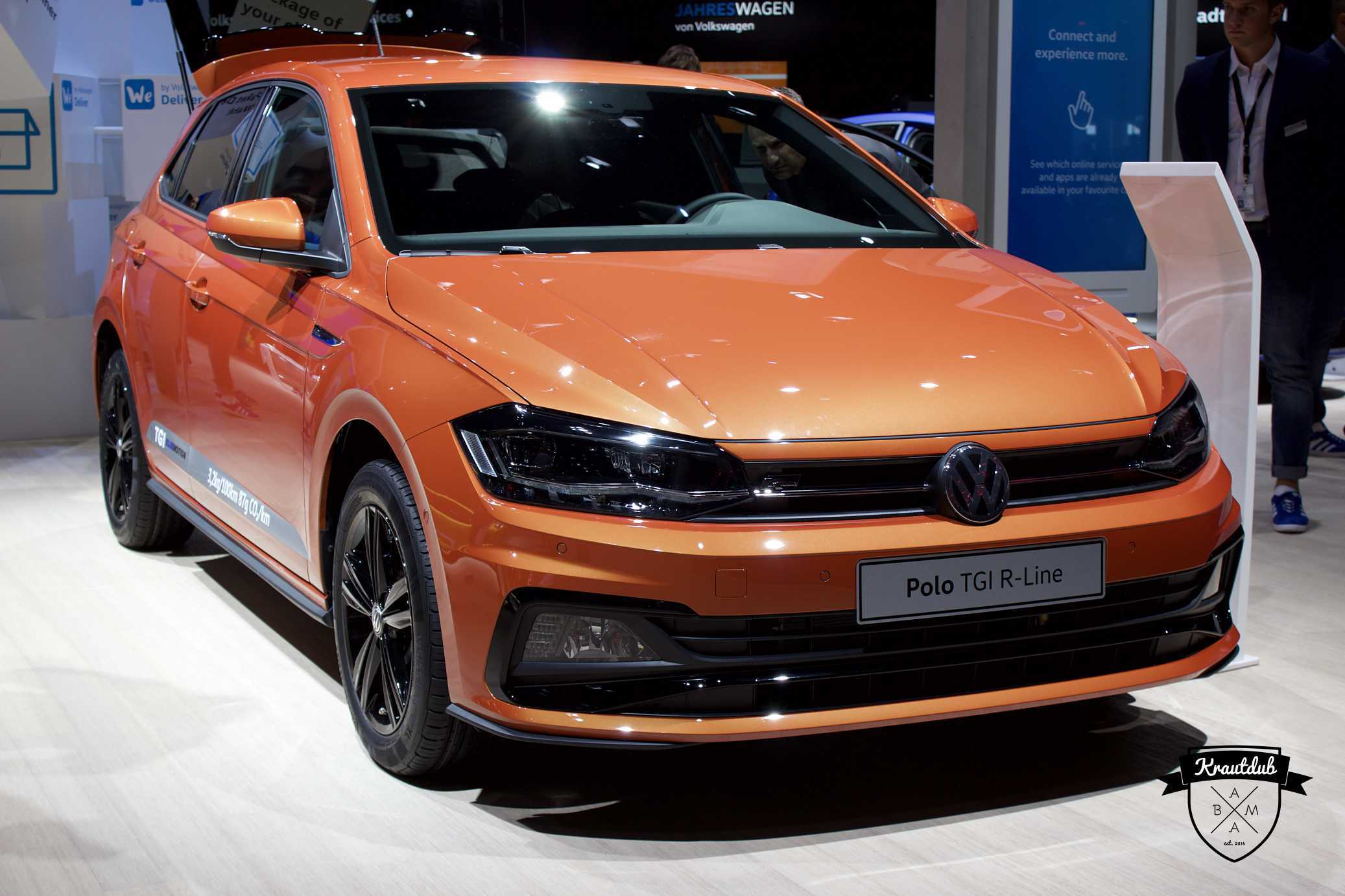 VW Polo TGI R-Line - IAA 2017