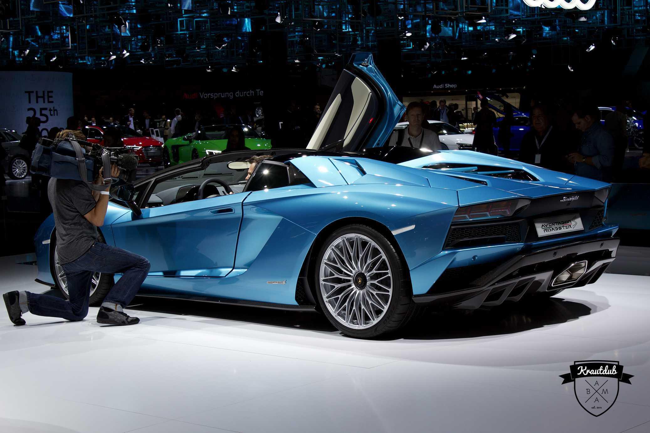 Lamborghini Aventador Roadster - IAA 2017