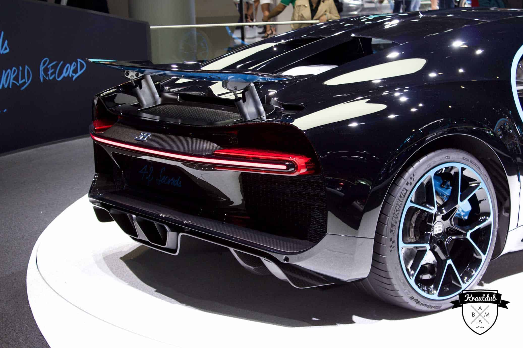 Bugatti Chiron - IAA 2017