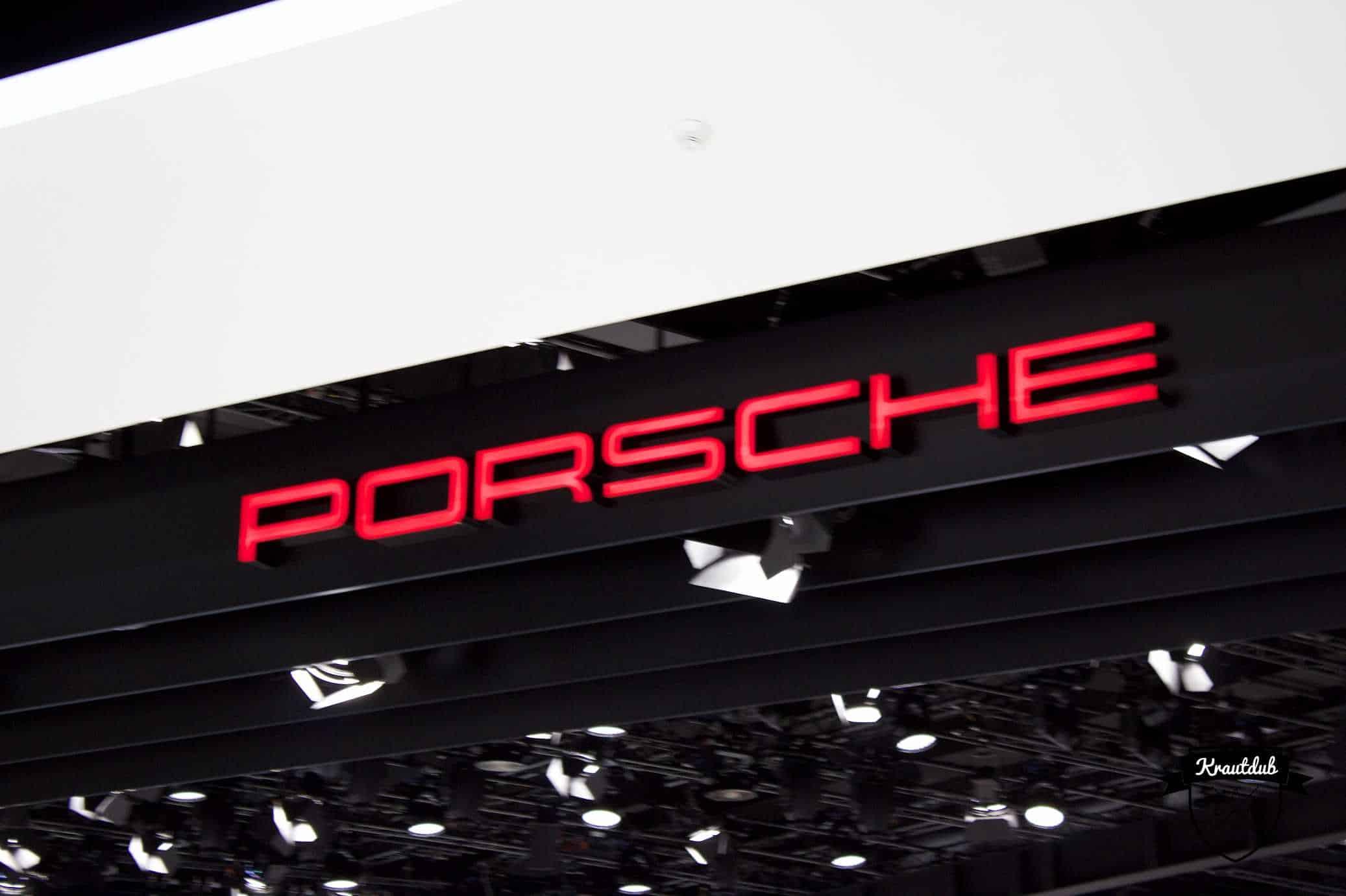 Porsche - IAA 2017