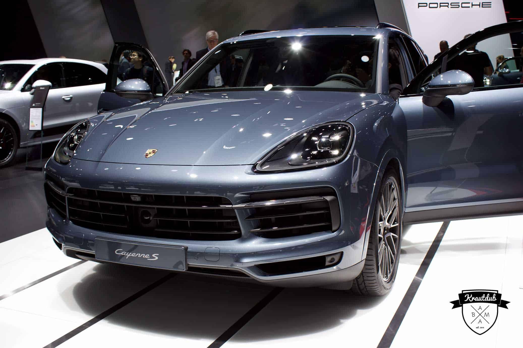 Porsche Cayenne S - IAA 2017