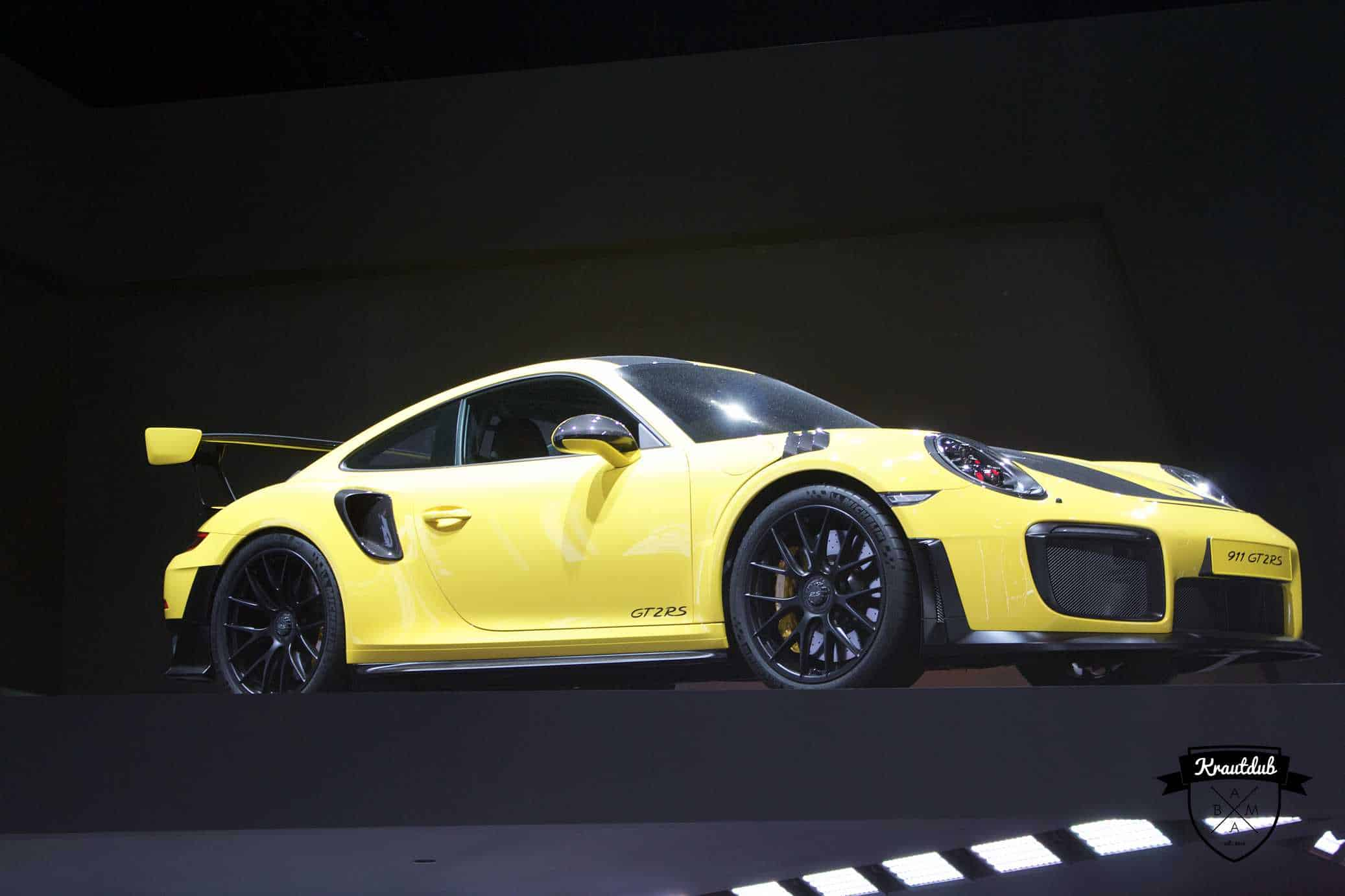 Porsche 911 GT3 RS - IAA 2017